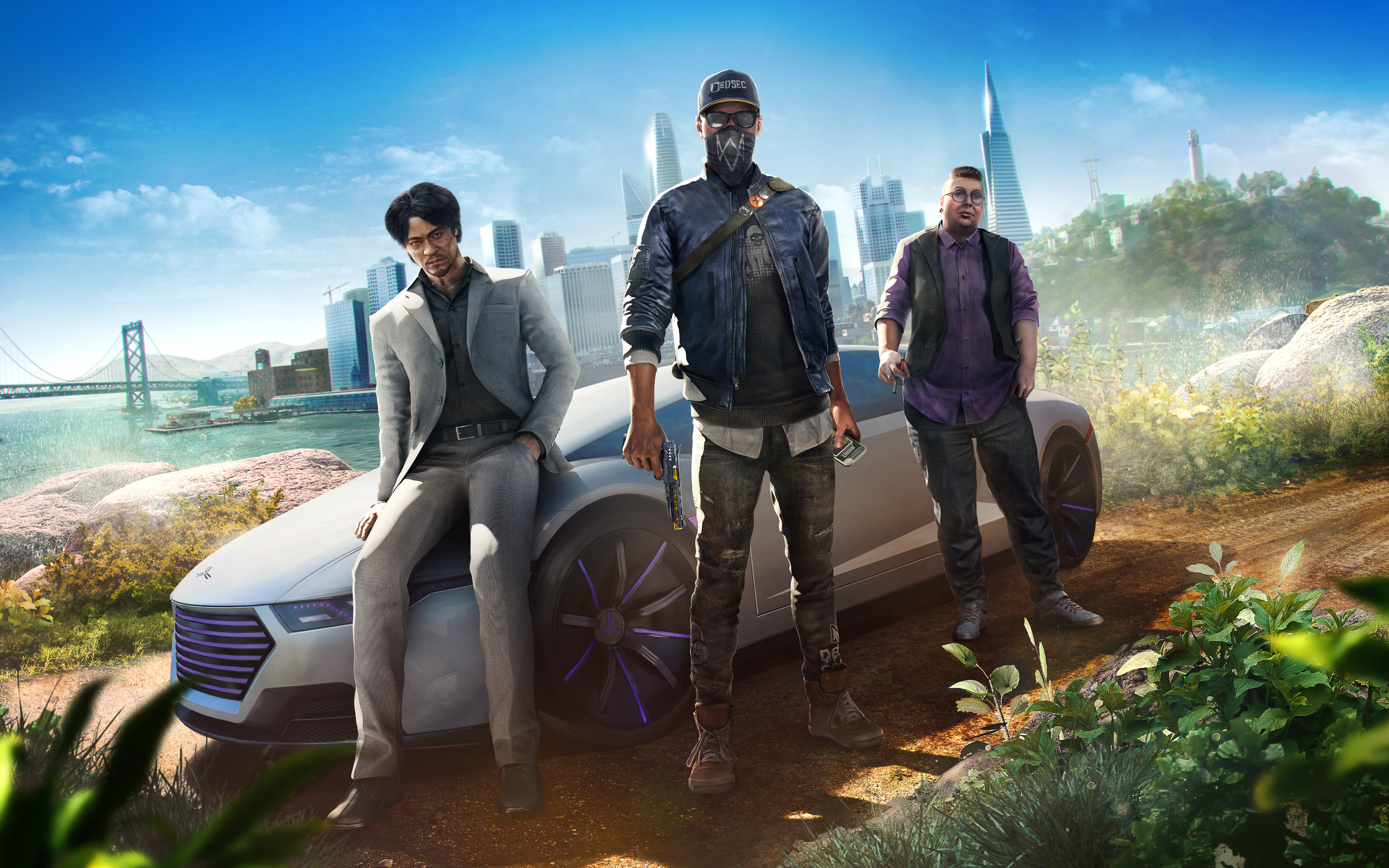 Watch Dogs 2 Human Conditions Dlc 4k 8k Hd Wallpapers