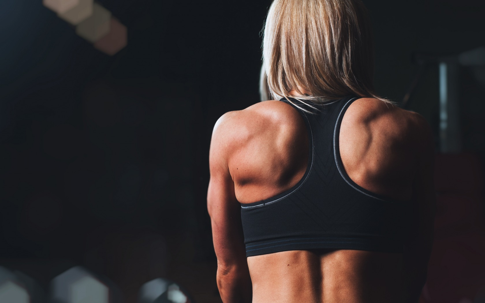 Bodybuilding Muscle Girl Fitness Wallpaper Hd Wallpapers