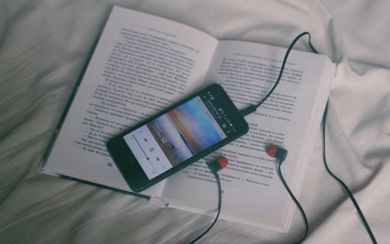 Phone Headphones Book Wallpaper Hd Wallpapers