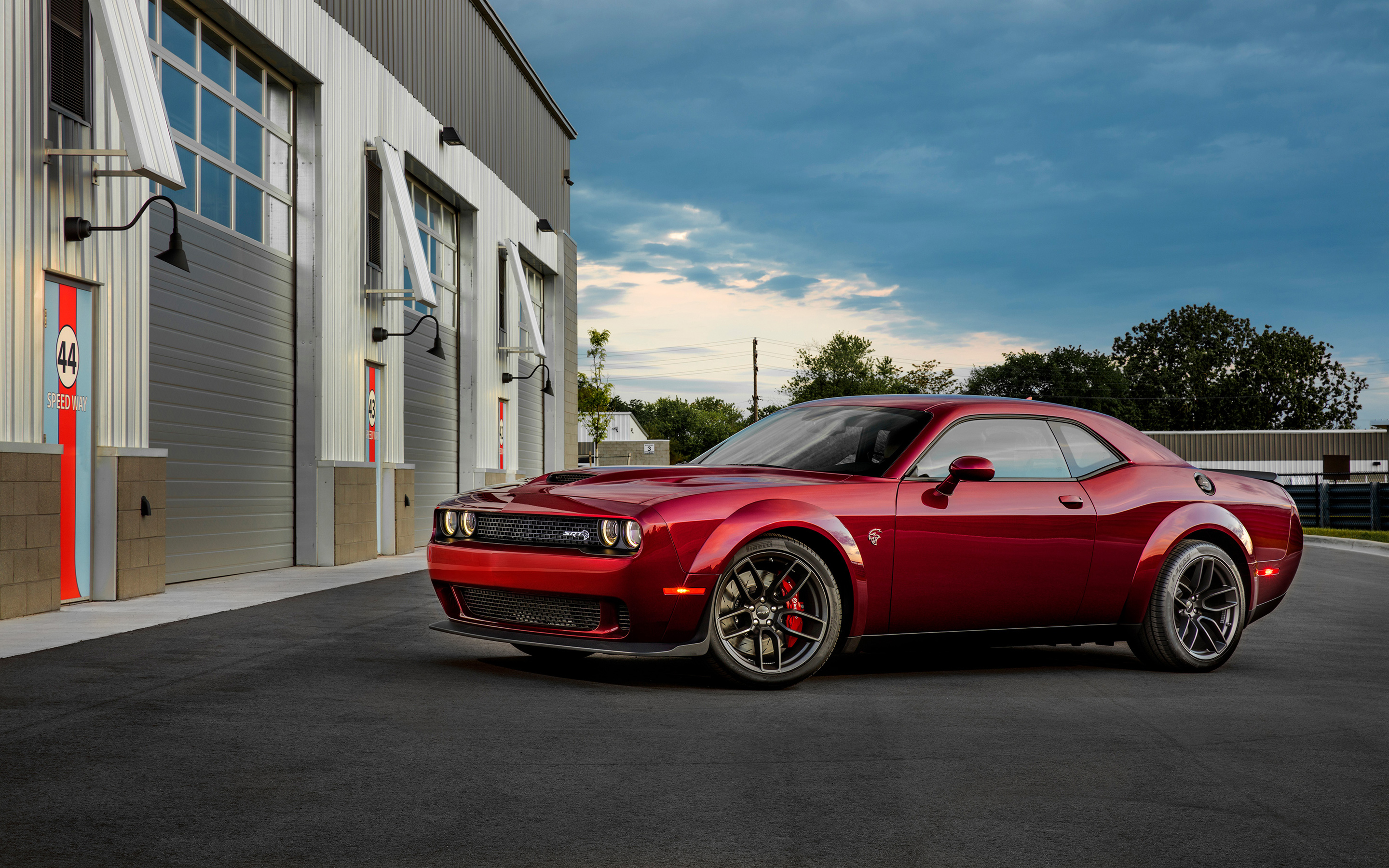 2018 Dodge Challenger Srt Hellcat Widebody Wallpapers Hd Wallpapers