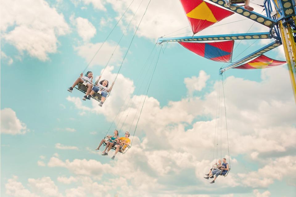 Amusement Park Ride Carnival Wallpaper Hd Wallpapers