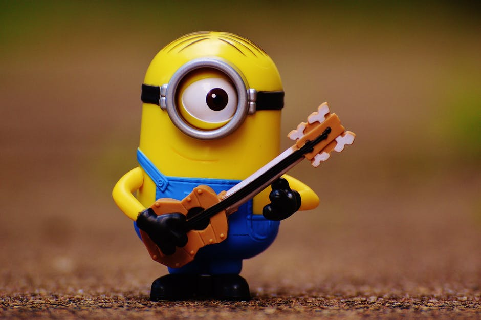 Minion With Guitar Wallpaper Hd Wallpapers