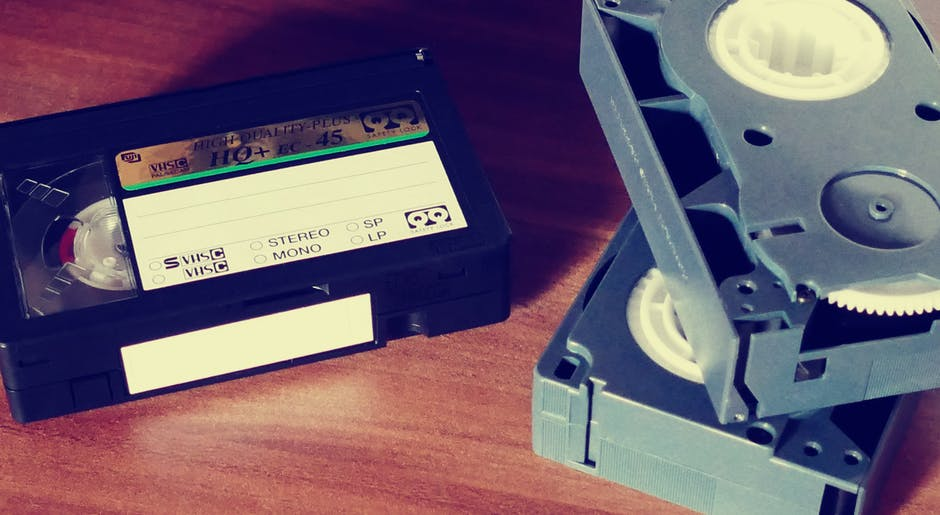 3 Vhs Tape On Top Of Table Wallpaper Hd Wallpapers