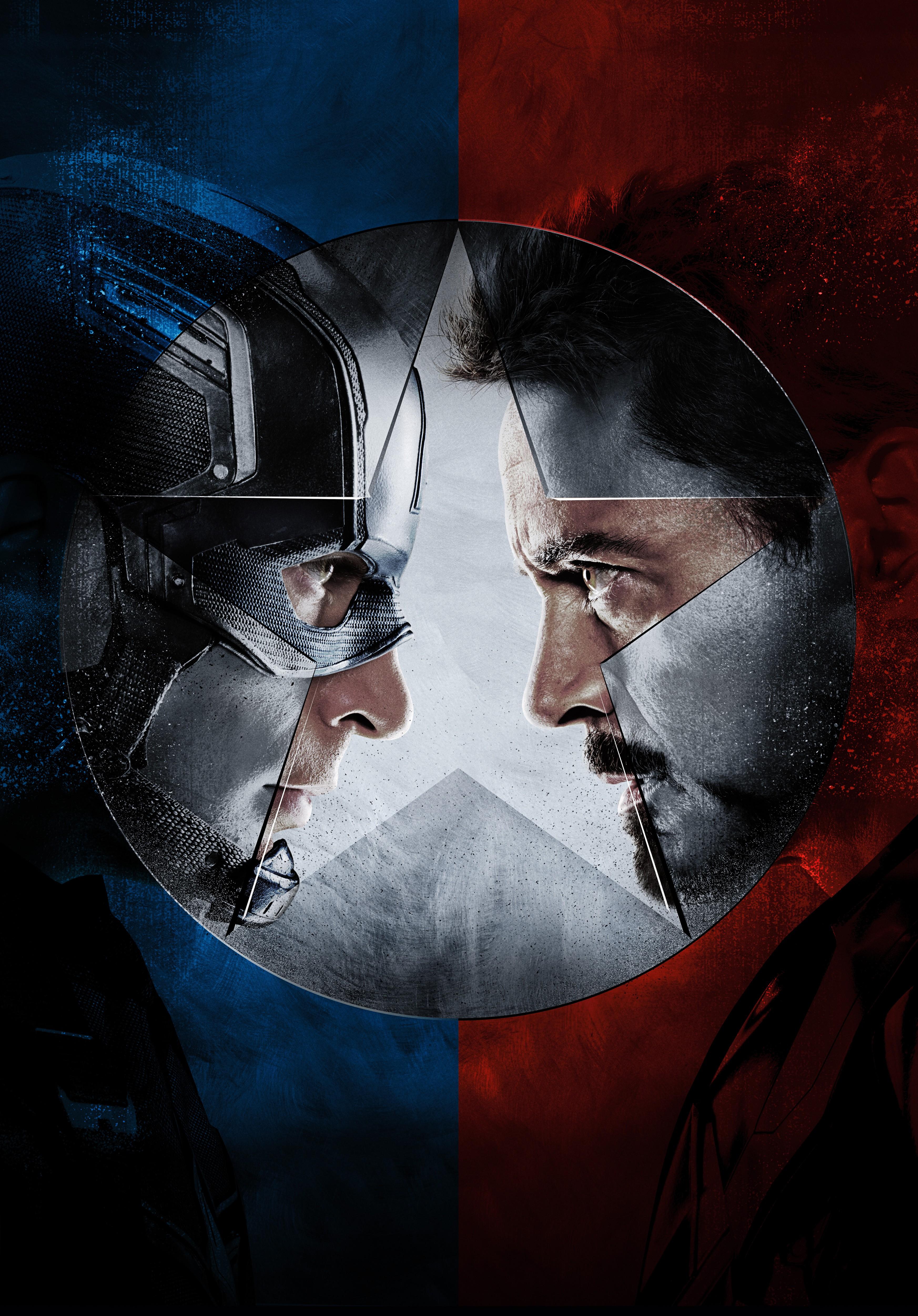 Captain America Iron Man Civil War 2016 Movies Wallpaper Hd