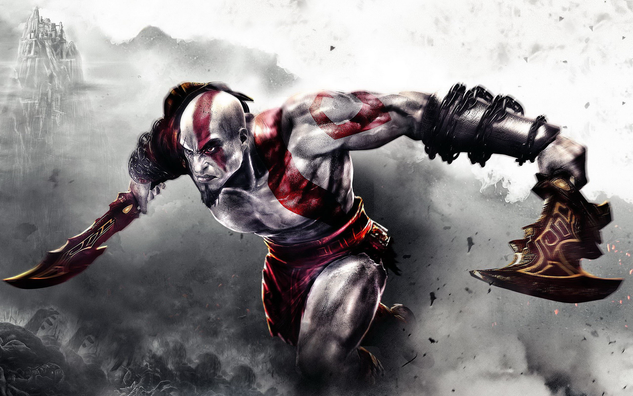 God Of War 3 Game Wallpapers Hd Wallpapers