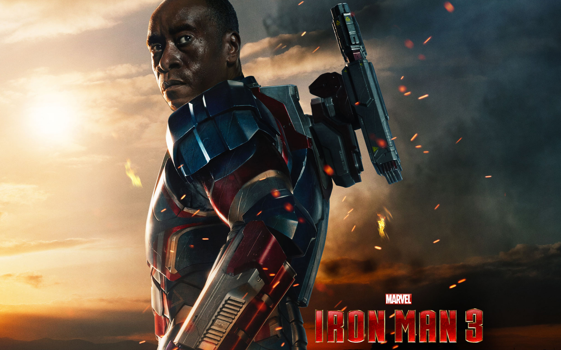 James Rhodes In Iron Man 3 Wallpapers Hd Wallpapers