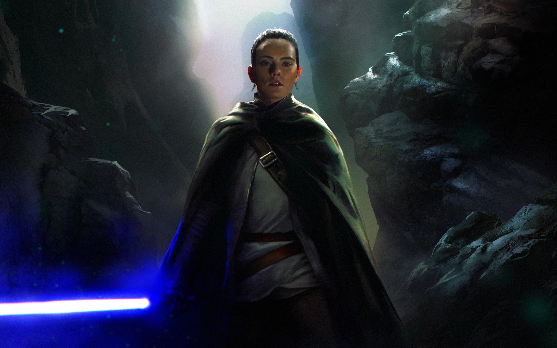 Rey Star Wars The Last Jedi Artwork Wallpapers Hd Wallpapers