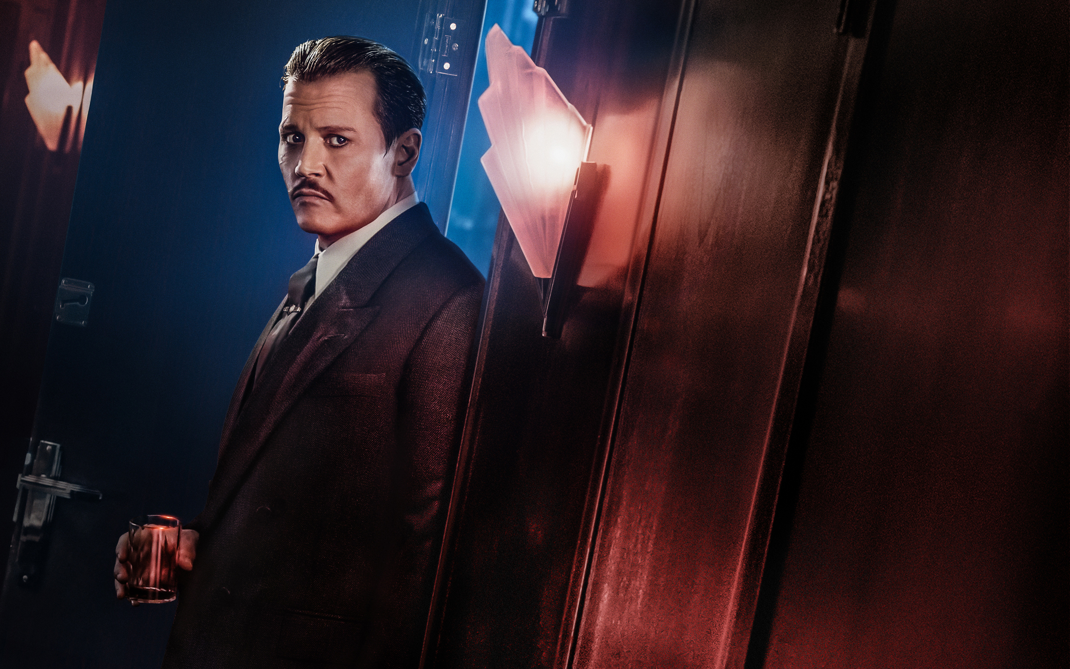 Johnny Depp In Murder On The Orient Express Wallpapers Hd Wallpapers