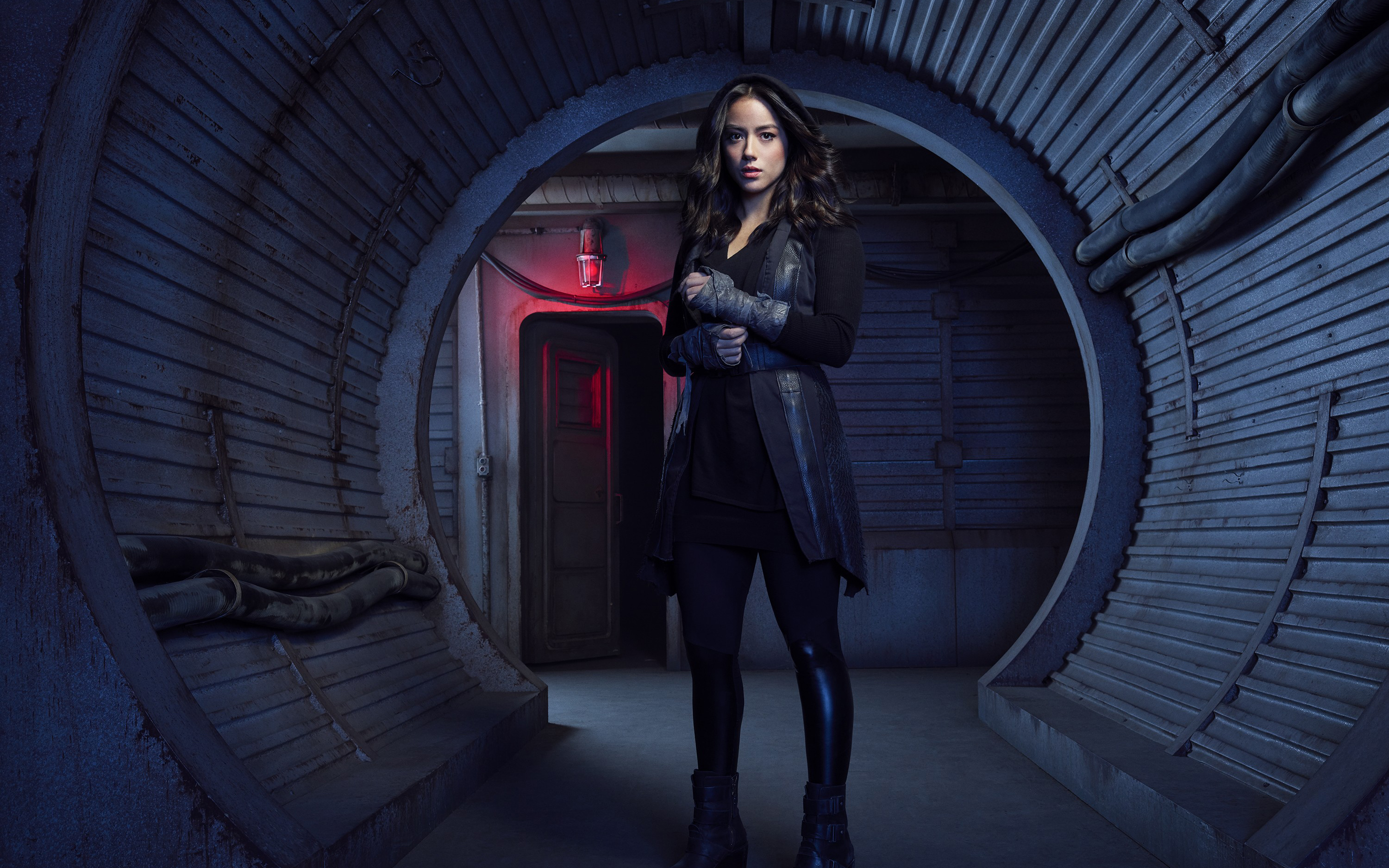 Chloe Bennet As Daisy Johnson Agents Of Shield Season 5 Wallpapers