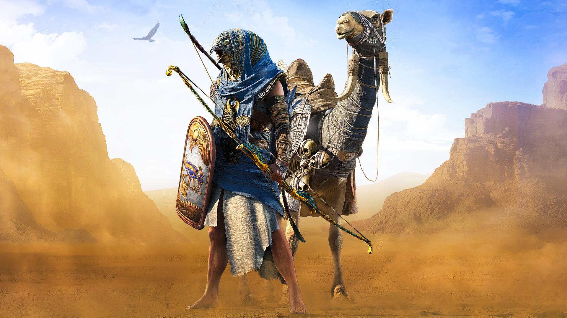 Horus Assassins Creed Origins Wallpapers Hd Wallpapers