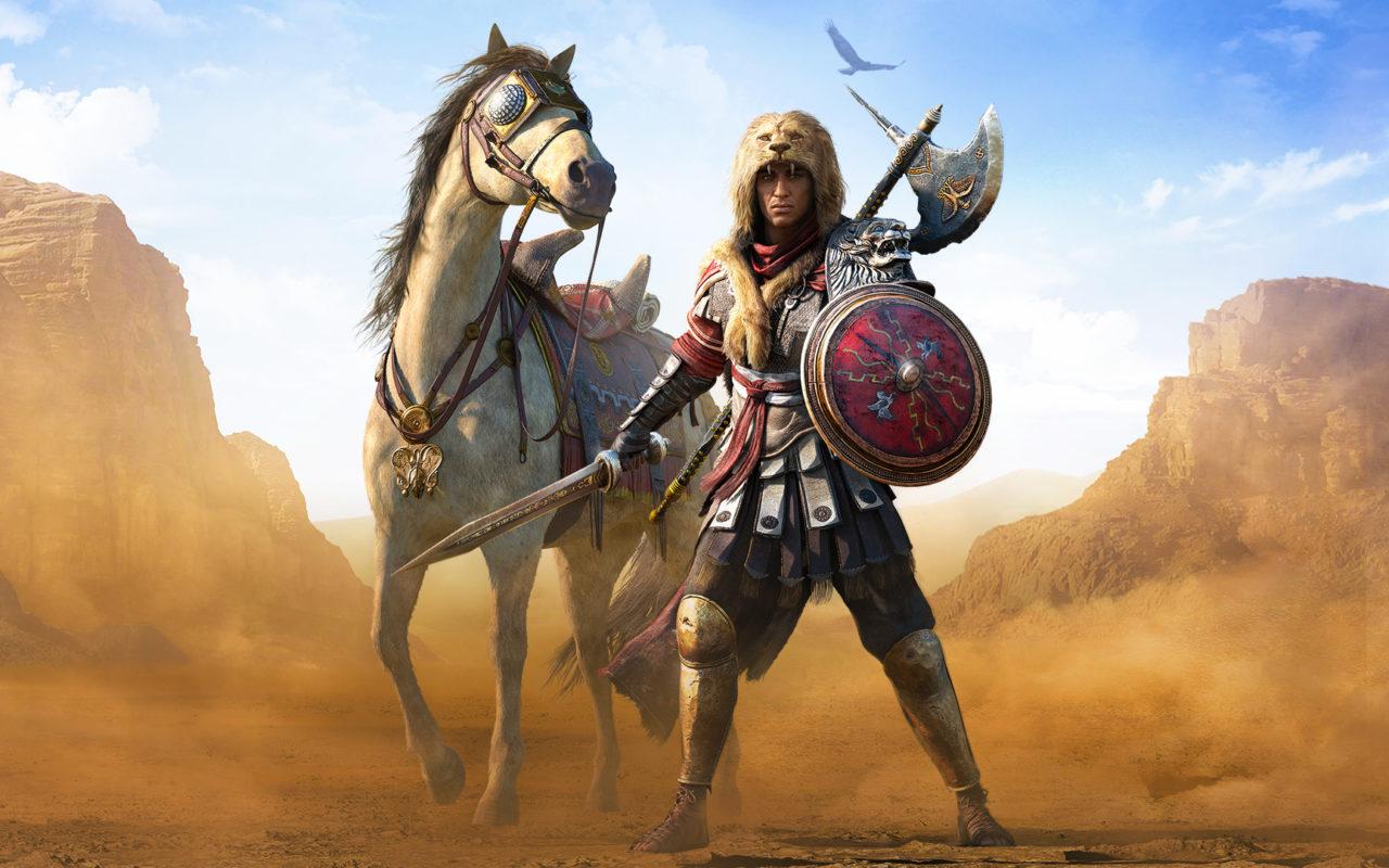 Roman Centurion Assassins Creed Origins Wallpapers Hd Wallpapers