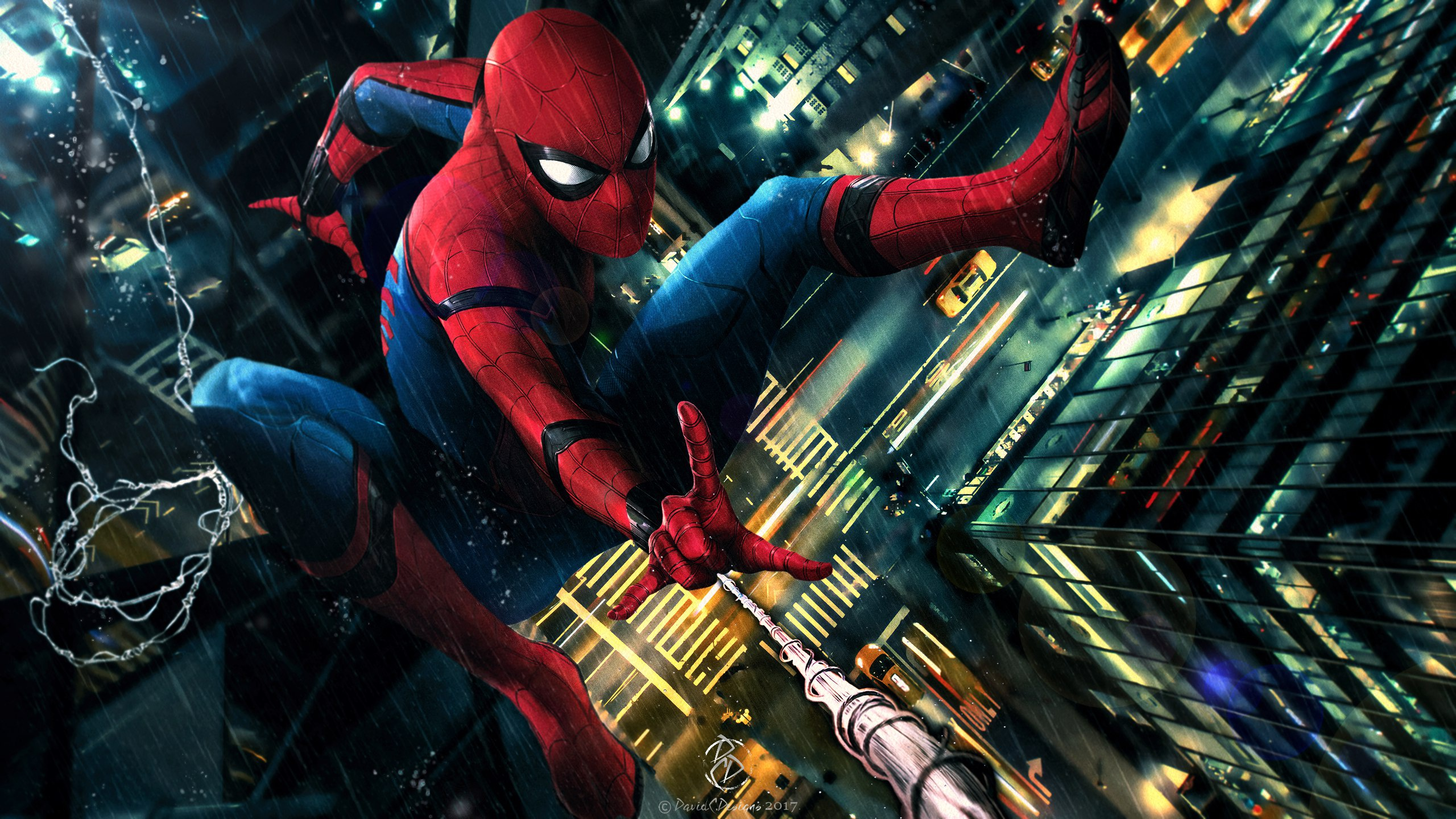 Spider Man Homecoming Fan Art Wallpapers Hd Wallpapers