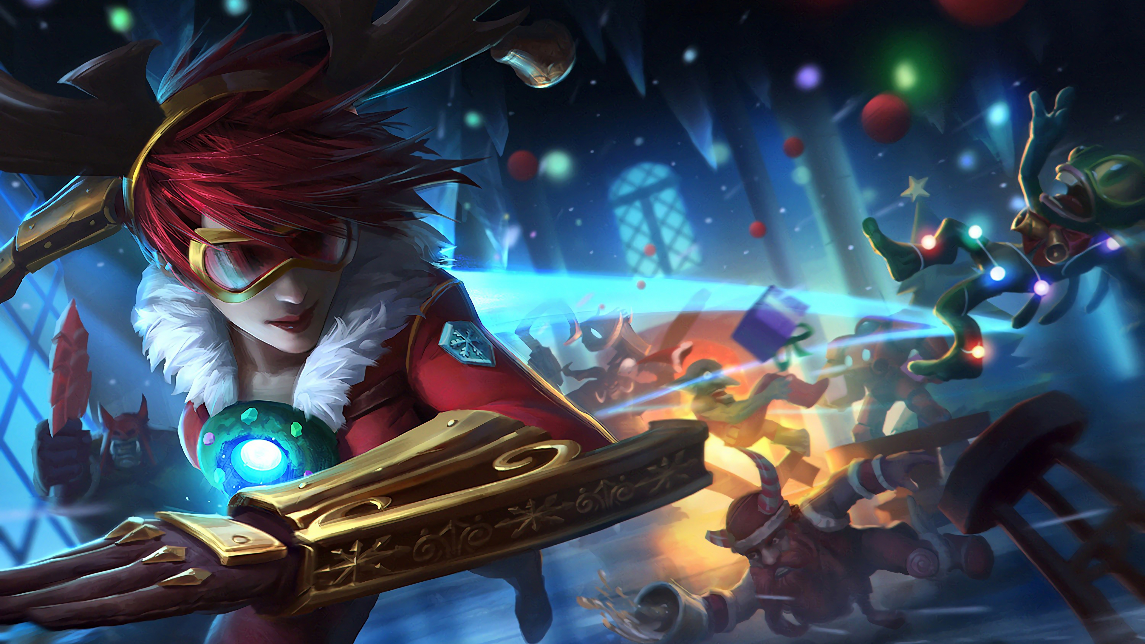 Tristana Lulu Poppy League Of Legends 4k Wallpapers Hd Wallpapers