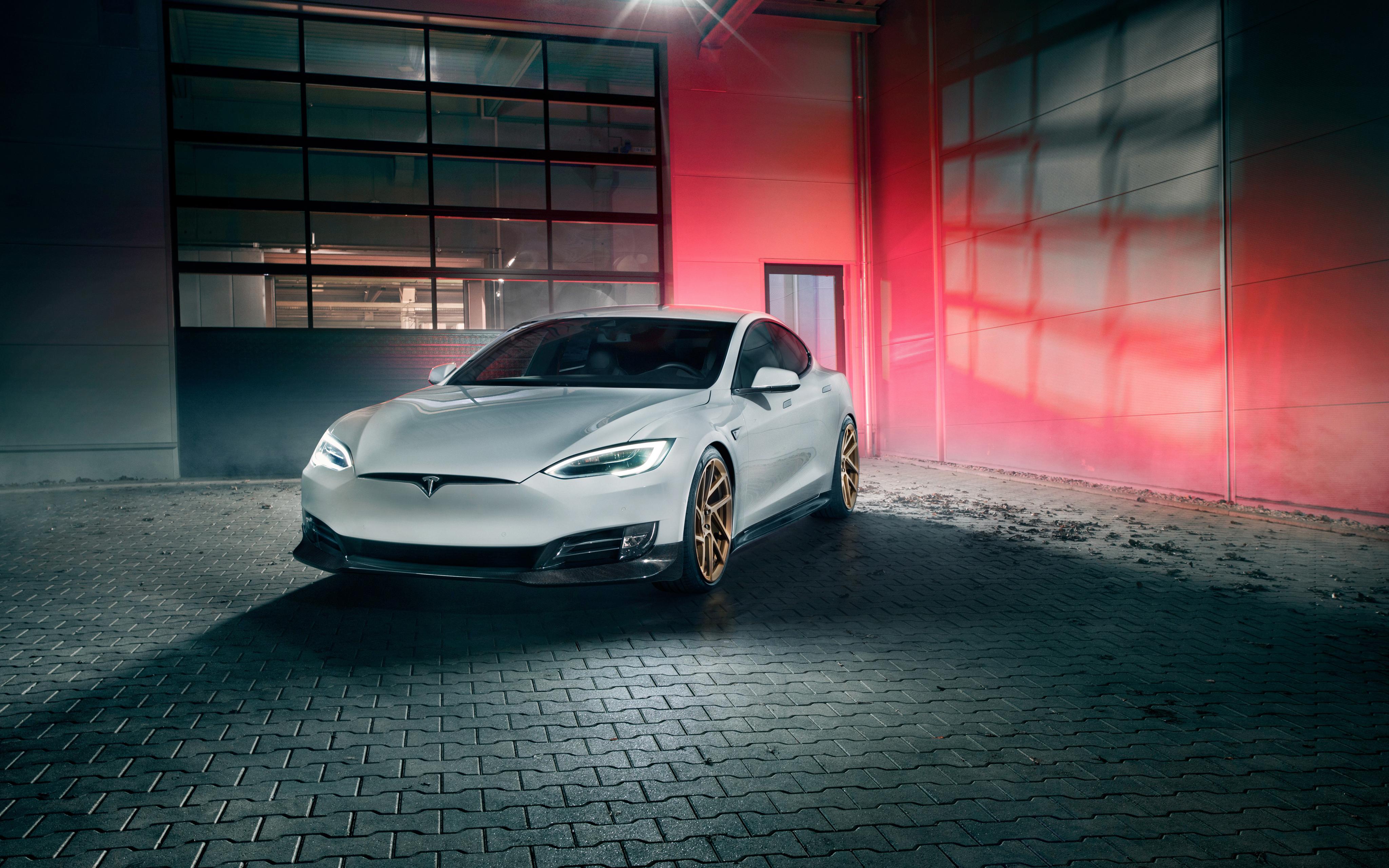 2017 Novitec Tesla Model S 4k Wallpapers Hd Wallpapers