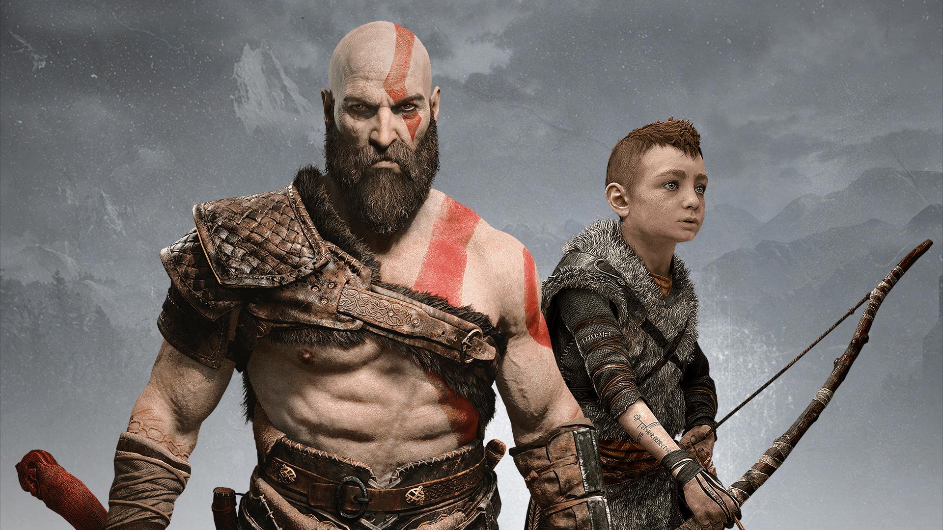 Kratos Atreus God Of War Hd Wallpapers Hd Wallpapers