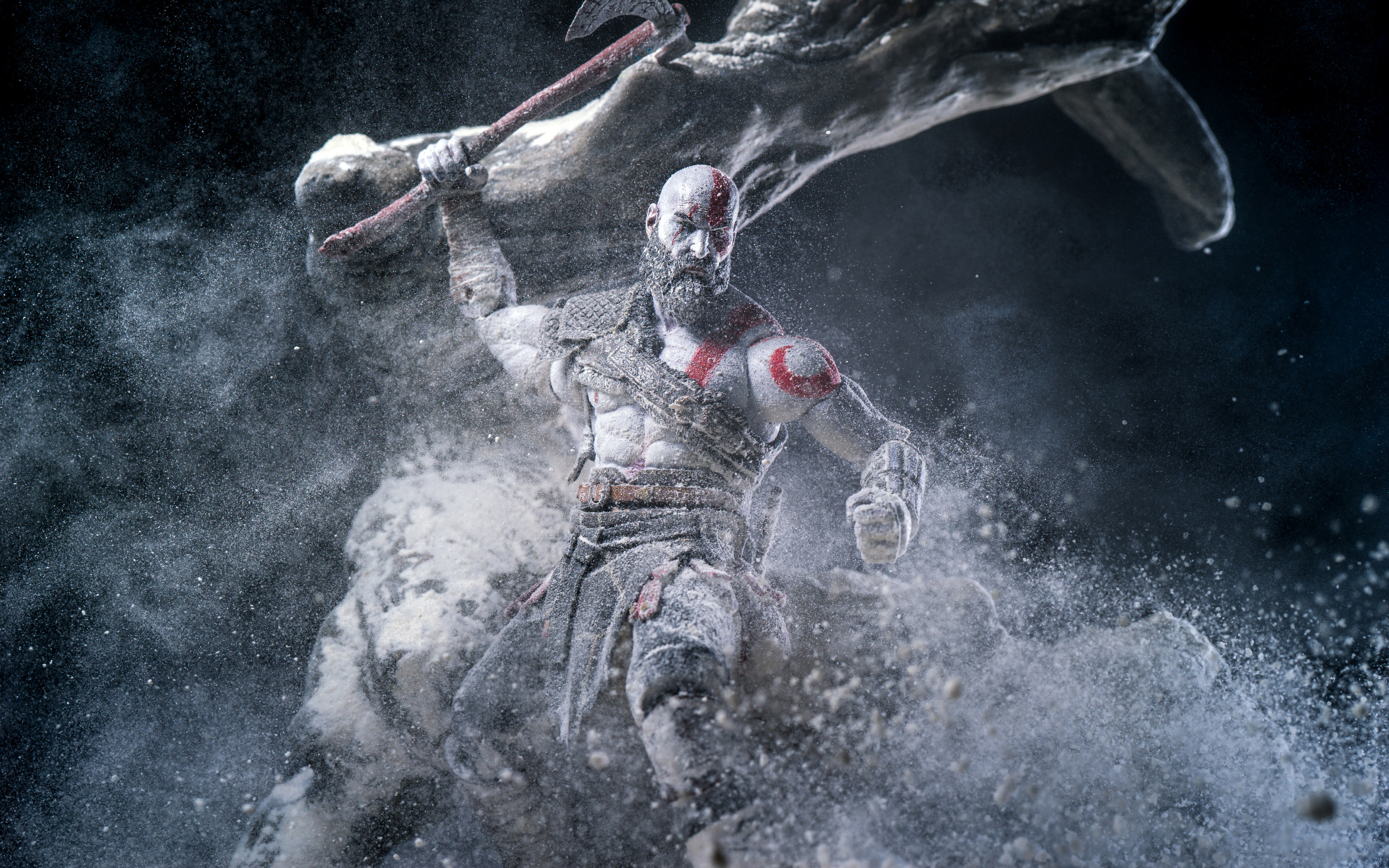Kratos In God Of War 2018 4k Wallpapers Hd Wallpapers