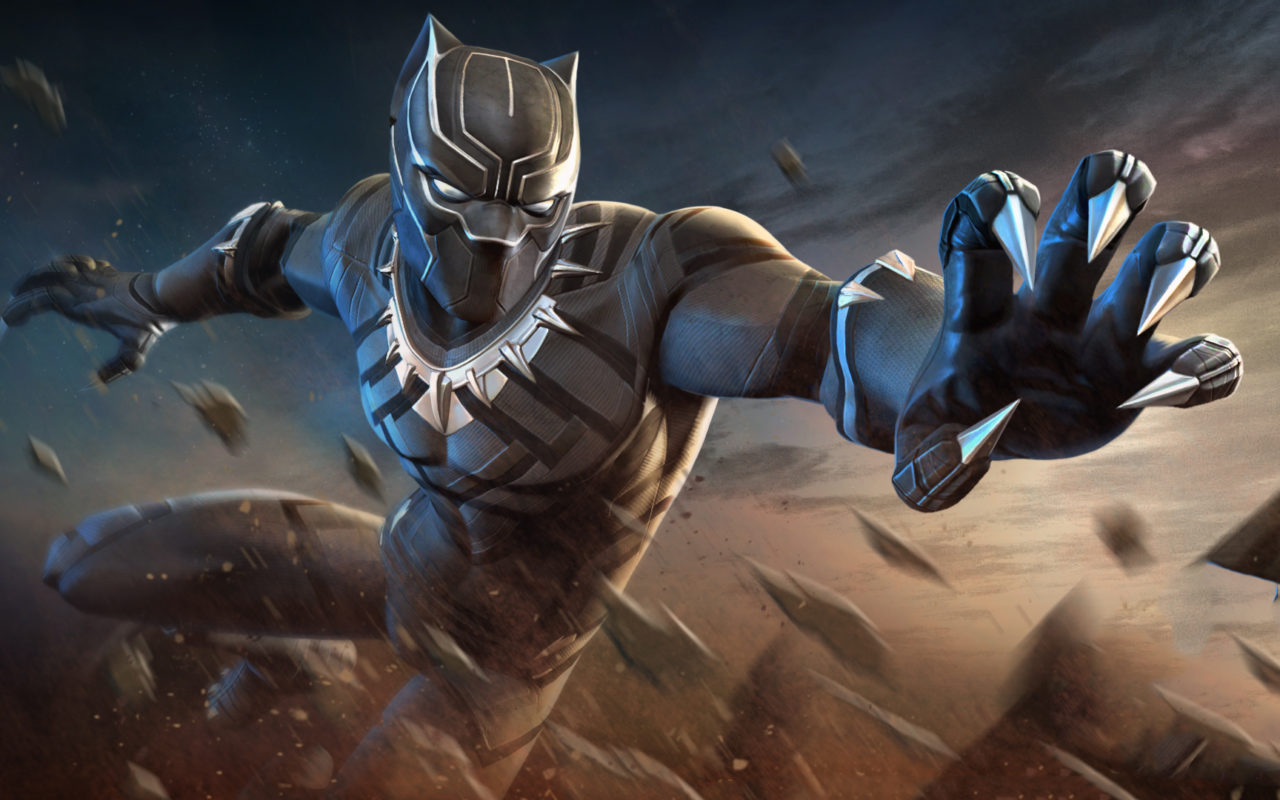 Black Panther Marvel Contest Of Champions Wallpapers Hd Wallpapers