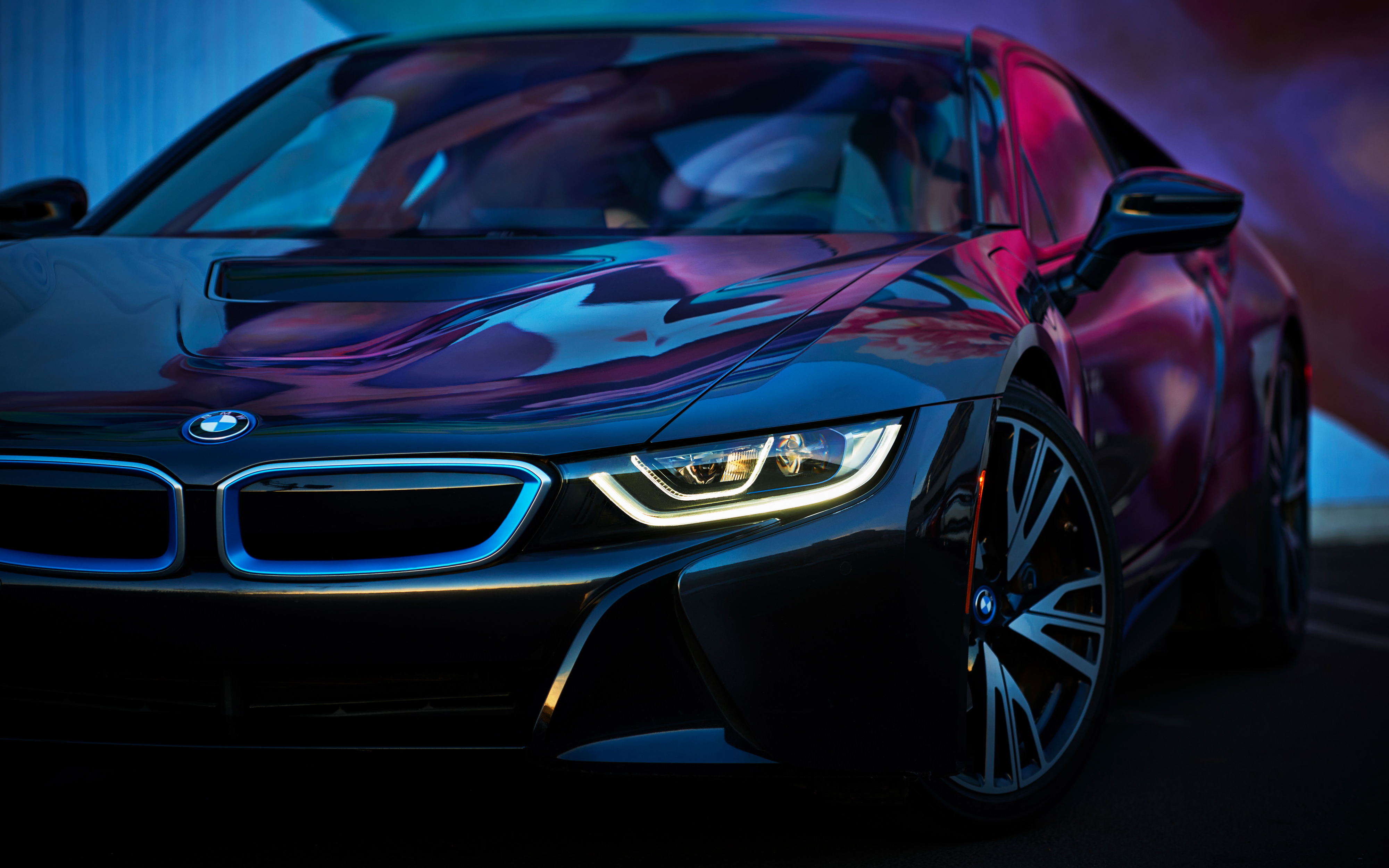 BMW i8 2018 4K Wallpapers   HD Wallpapers