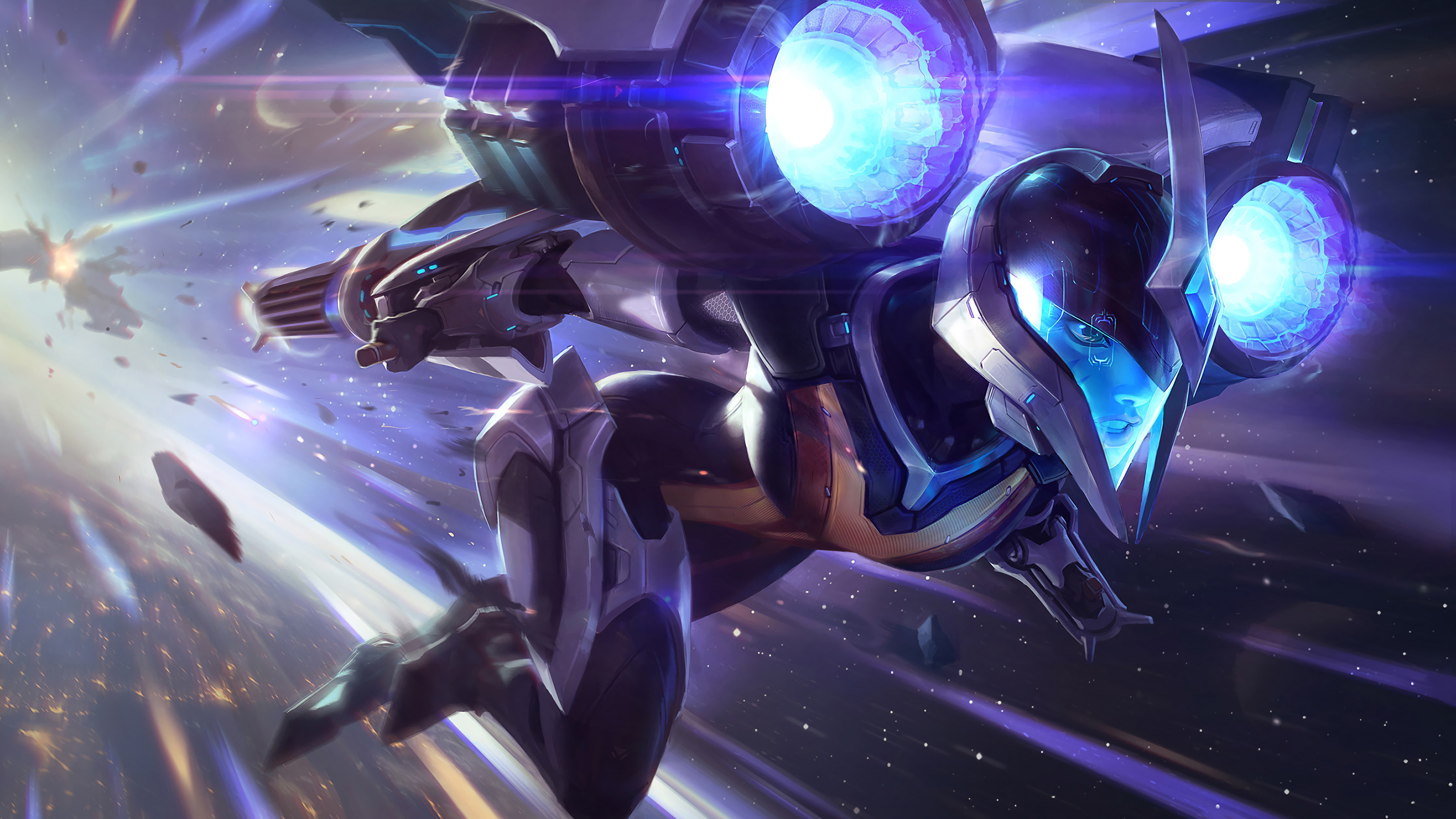 Kai Sa League Of Legends 4k Wallpapers Hd Wallpapers