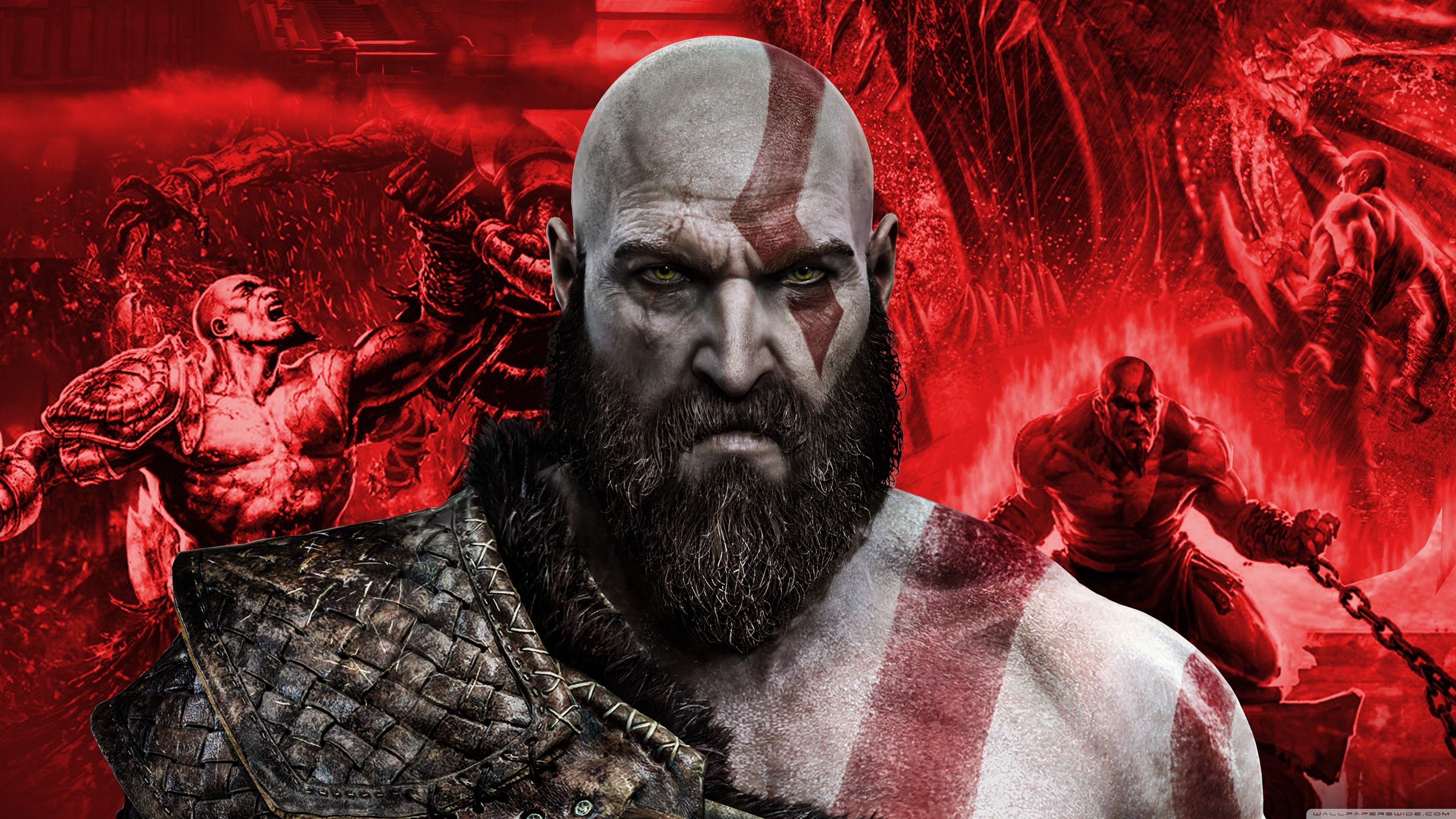 Kratos In God Of War 4k Wallpapers Hd Wallpapers