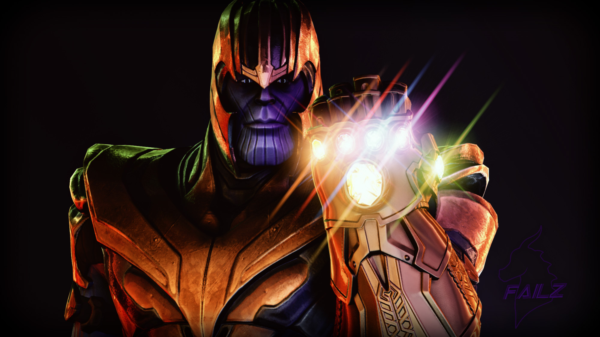Thanos Infinity Gauntlet Wallpapers Hd Wallpapers
