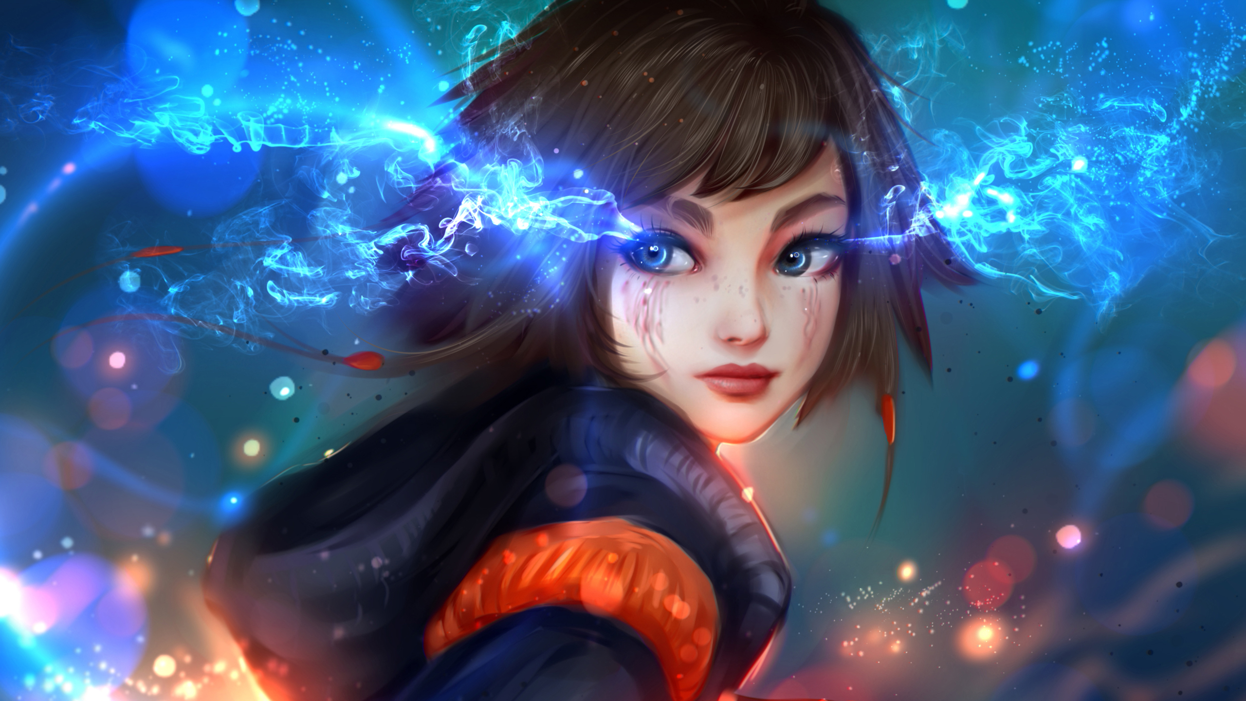 Blue Eyed Fantasy Girl Wallpapers Hd Wallpapers