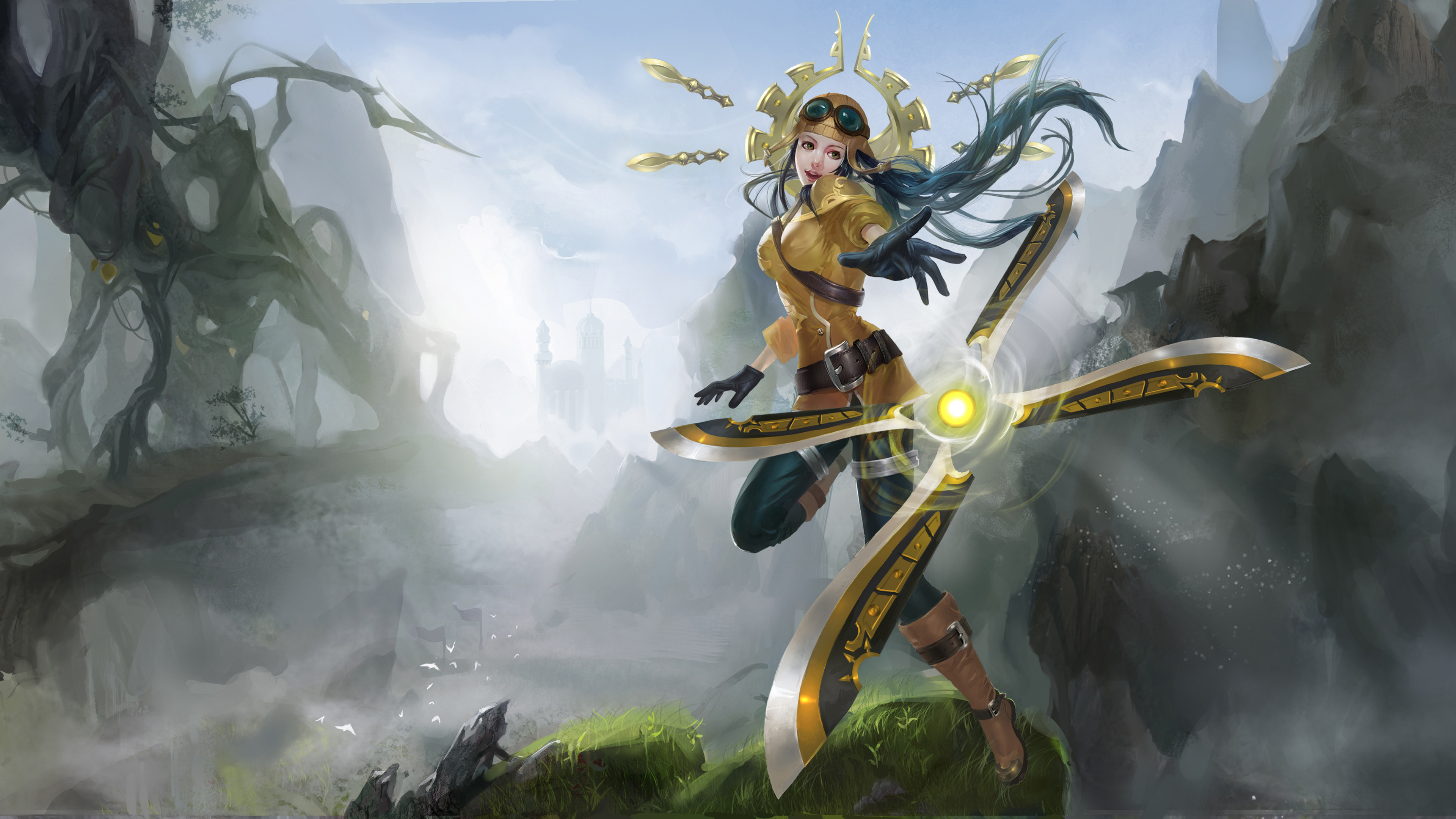 League Of Legends Irelia 4k Wallpapers Hd Wallpapers
