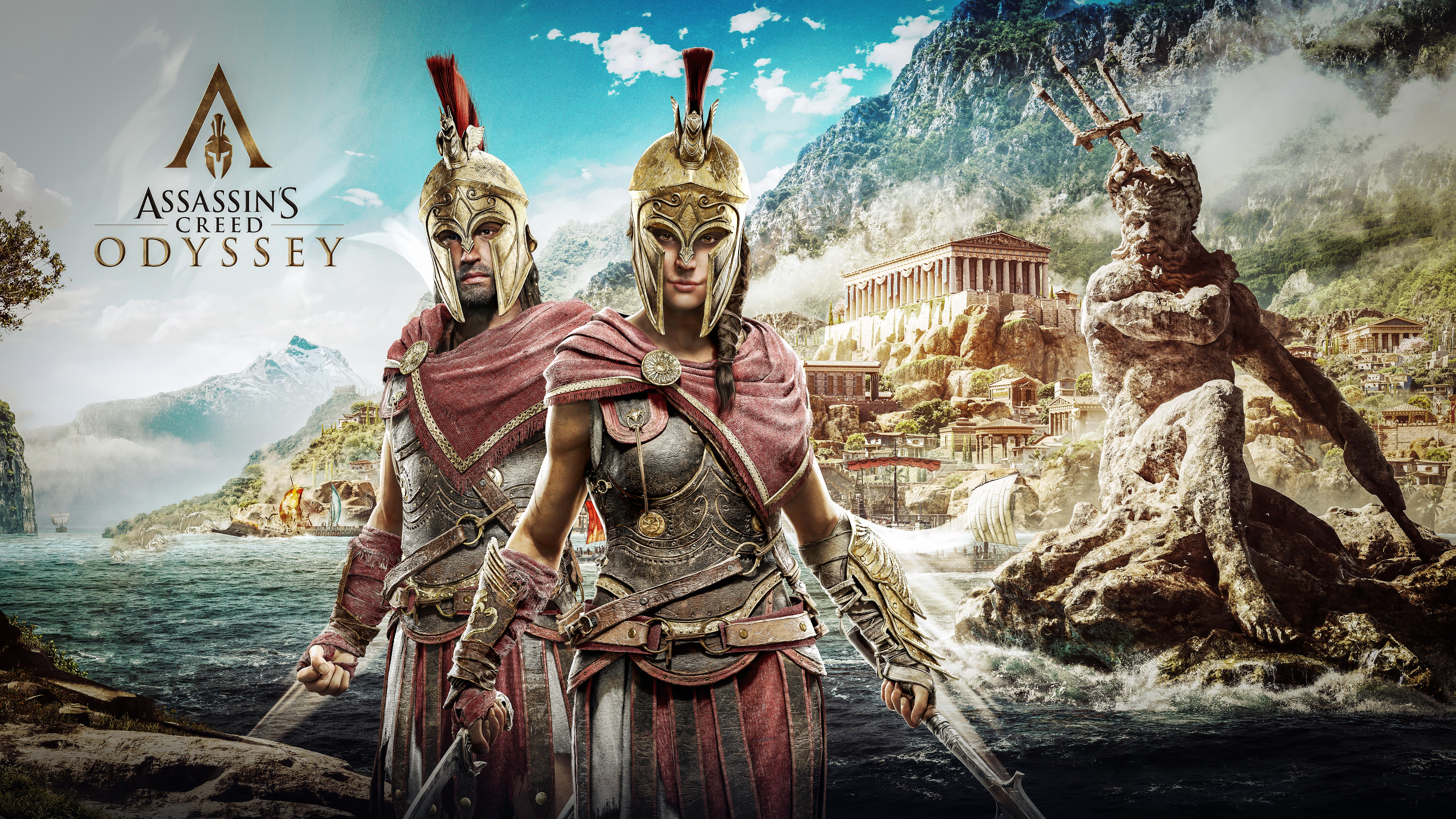 Assassin S Creed Odyssey 4k 8k Wallpapers Hd Wallpapers