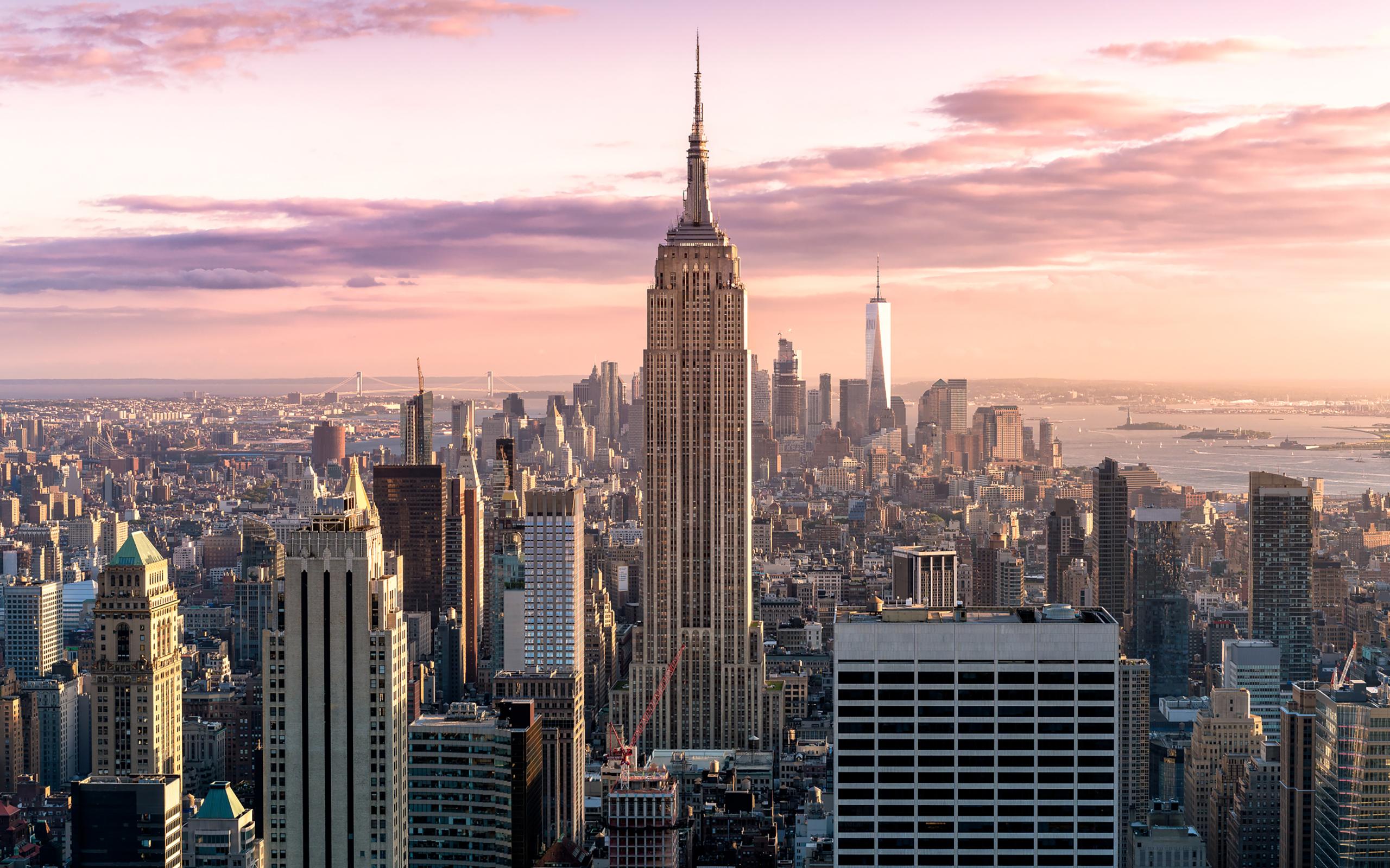 Manhattan Skyline New York City Wallpapers Hd Wallpapers