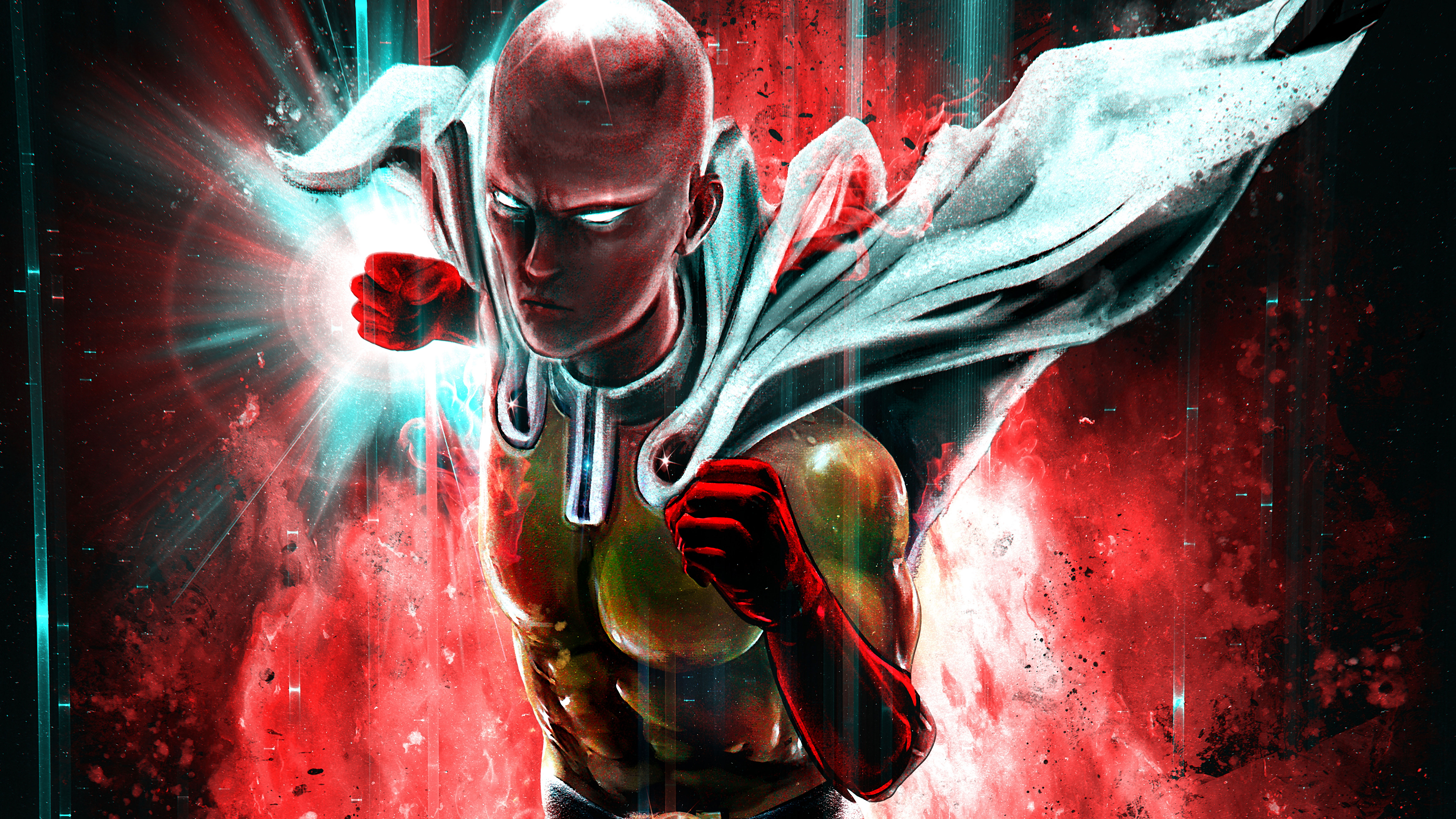 One Punch Man 4k 8k Hd Wallpapers Hd Wallpapers