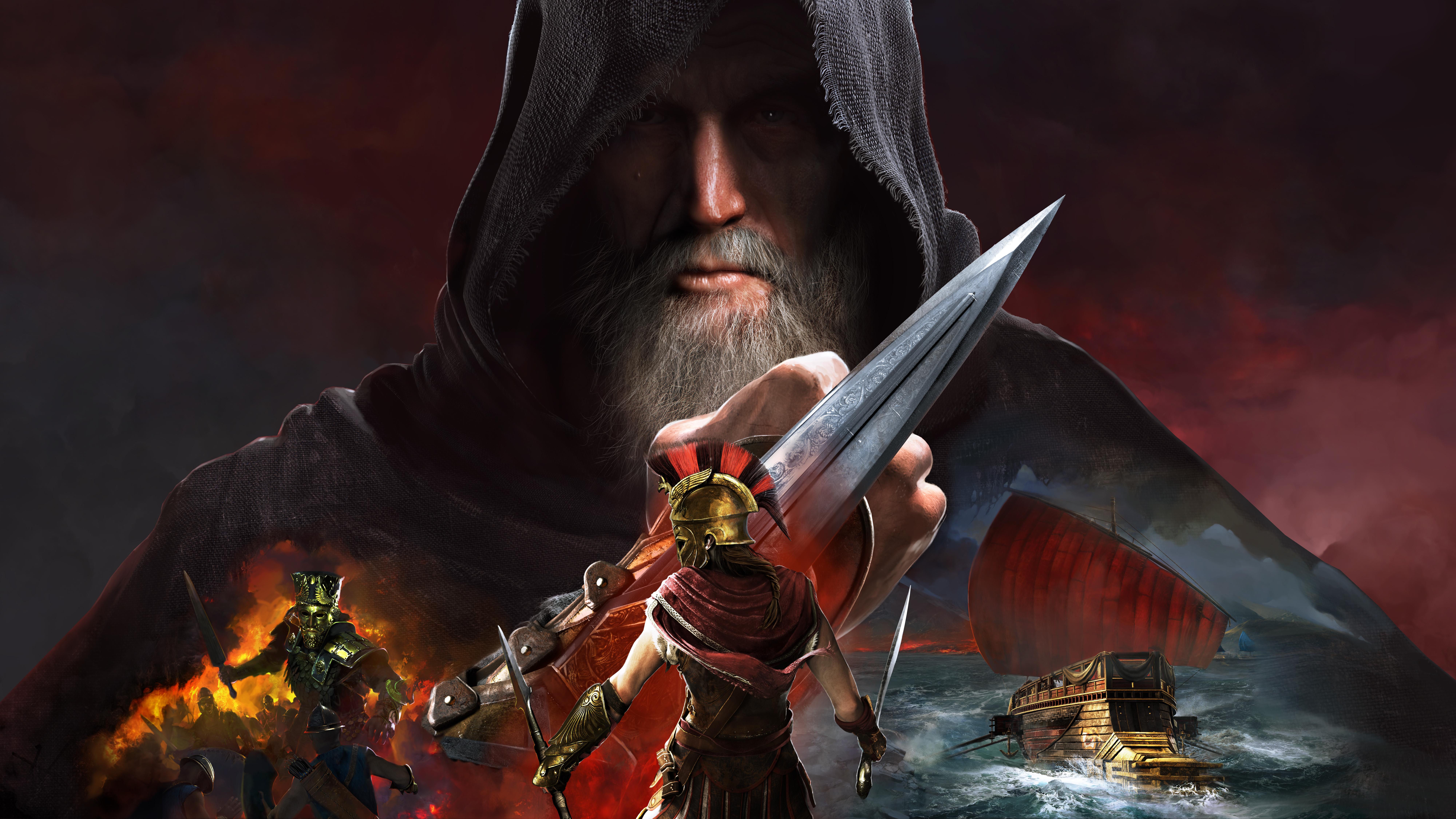 Assassinu0027s Creed Odyssey 4K 8K Wallpapers