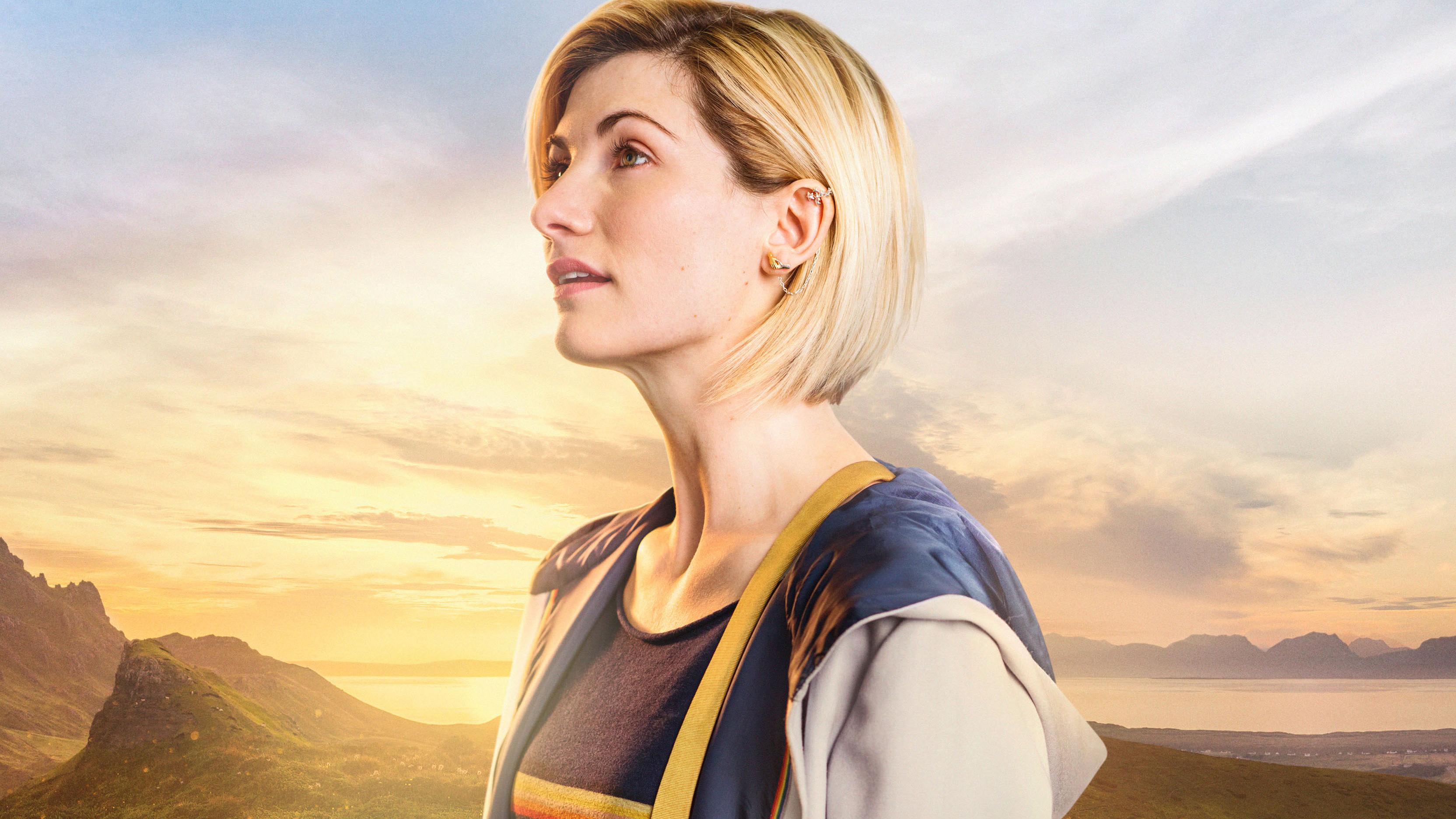 Jodie Whittaker In Doctor Who Season 11 Wallpapers Hd Wallpapers