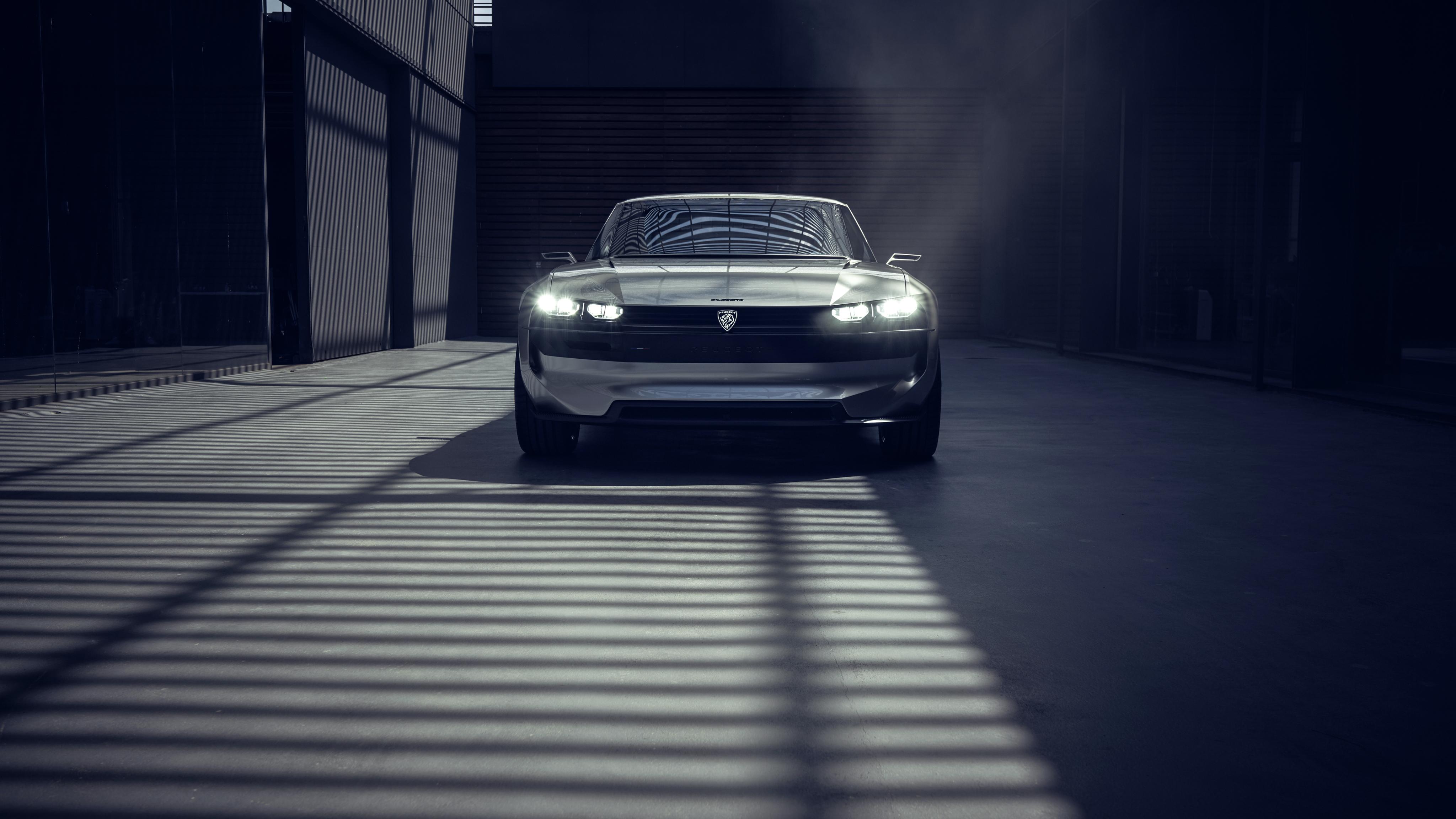 Peugeot E-Legend Concept 4K Wallpapers