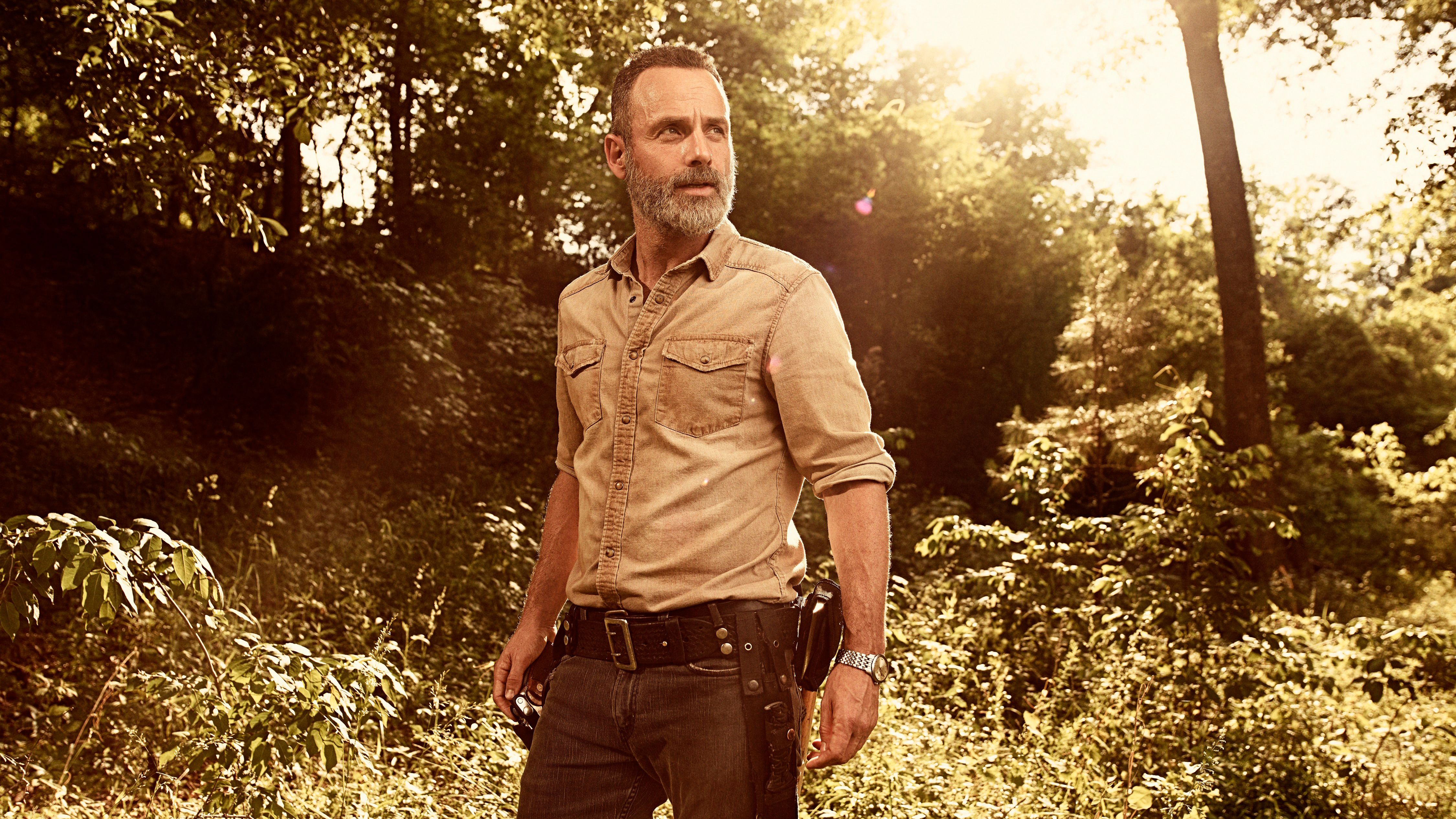 Rick Grimes In The Walking Dead Season 9 Wallpapers Hd Wallpapers