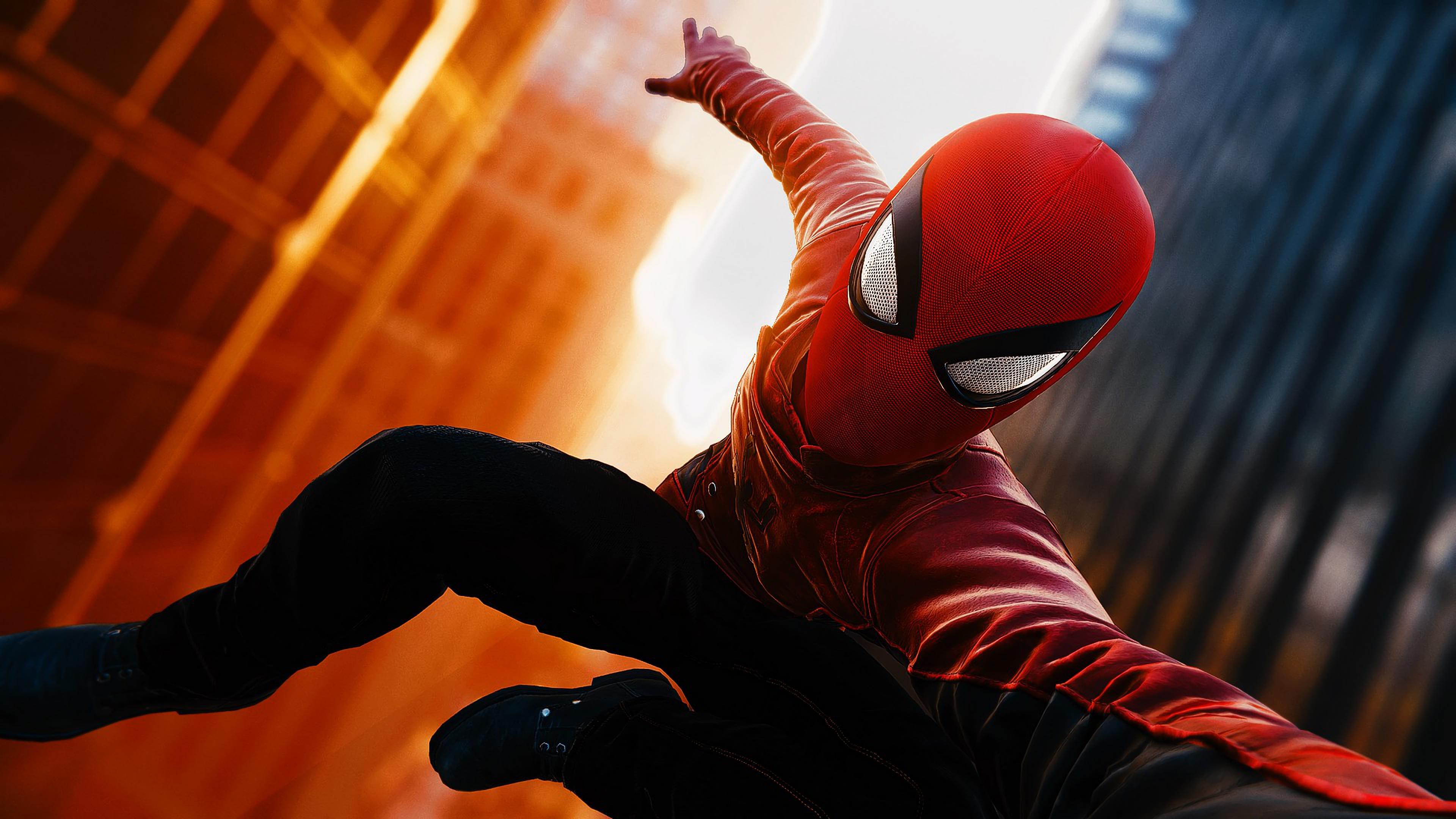 Spider Man PS4 4K