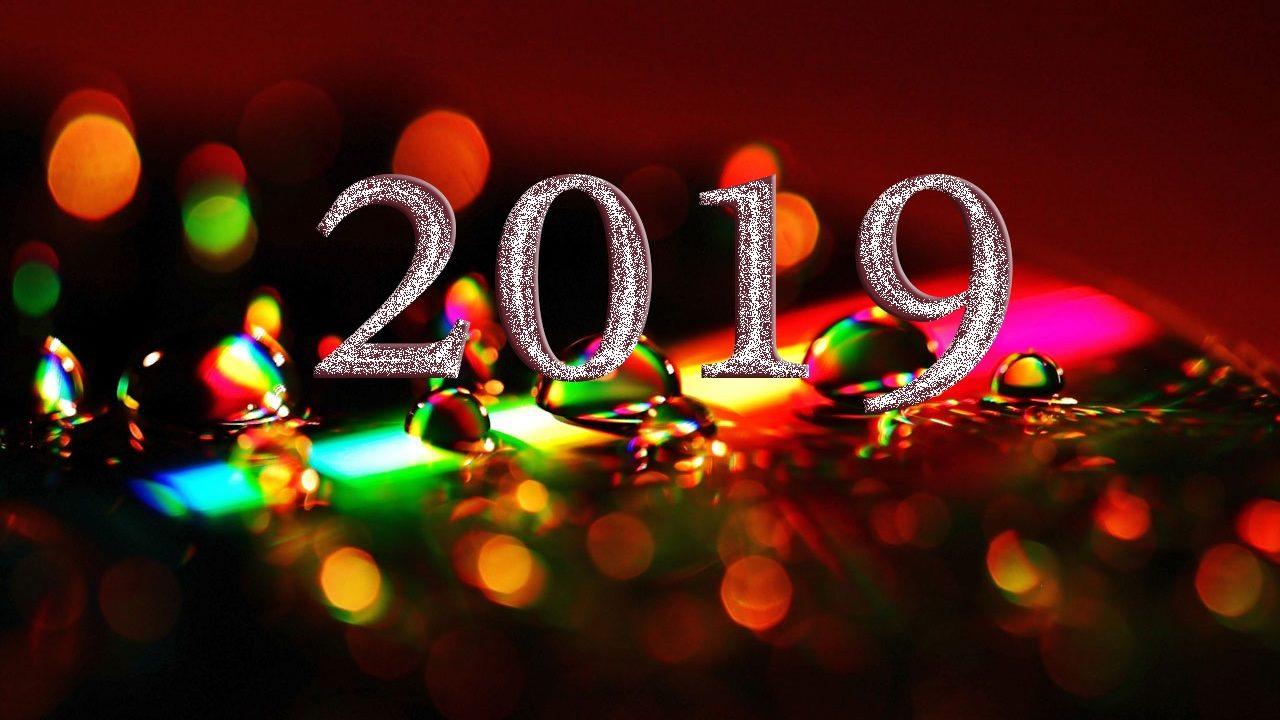 New Year 2019 HD Wallpaper  HD Wallpapers