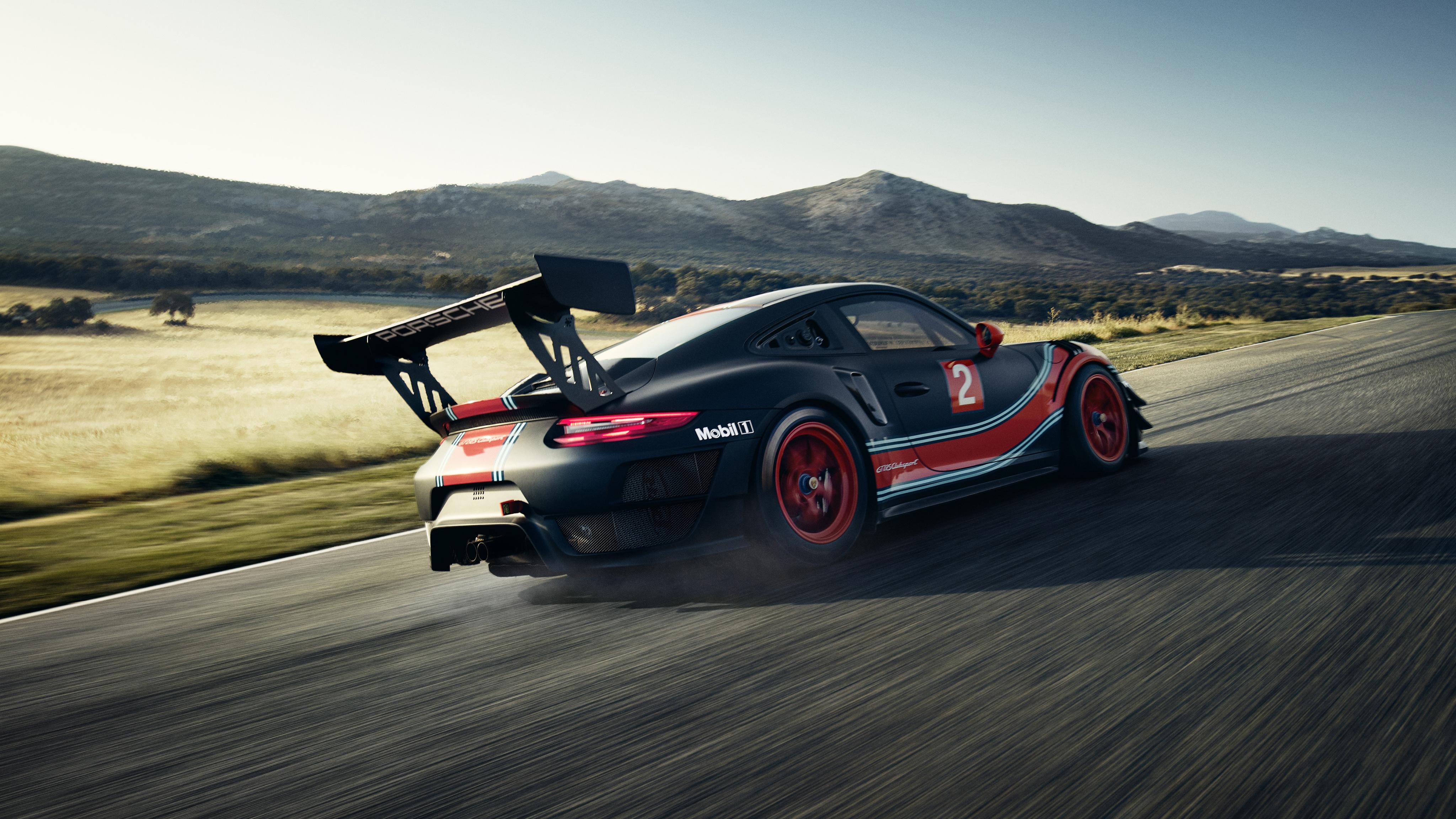 Porsche 911 Gt2 Rs Clubsport 2018 4k Wallpapers Hd Wallpapers