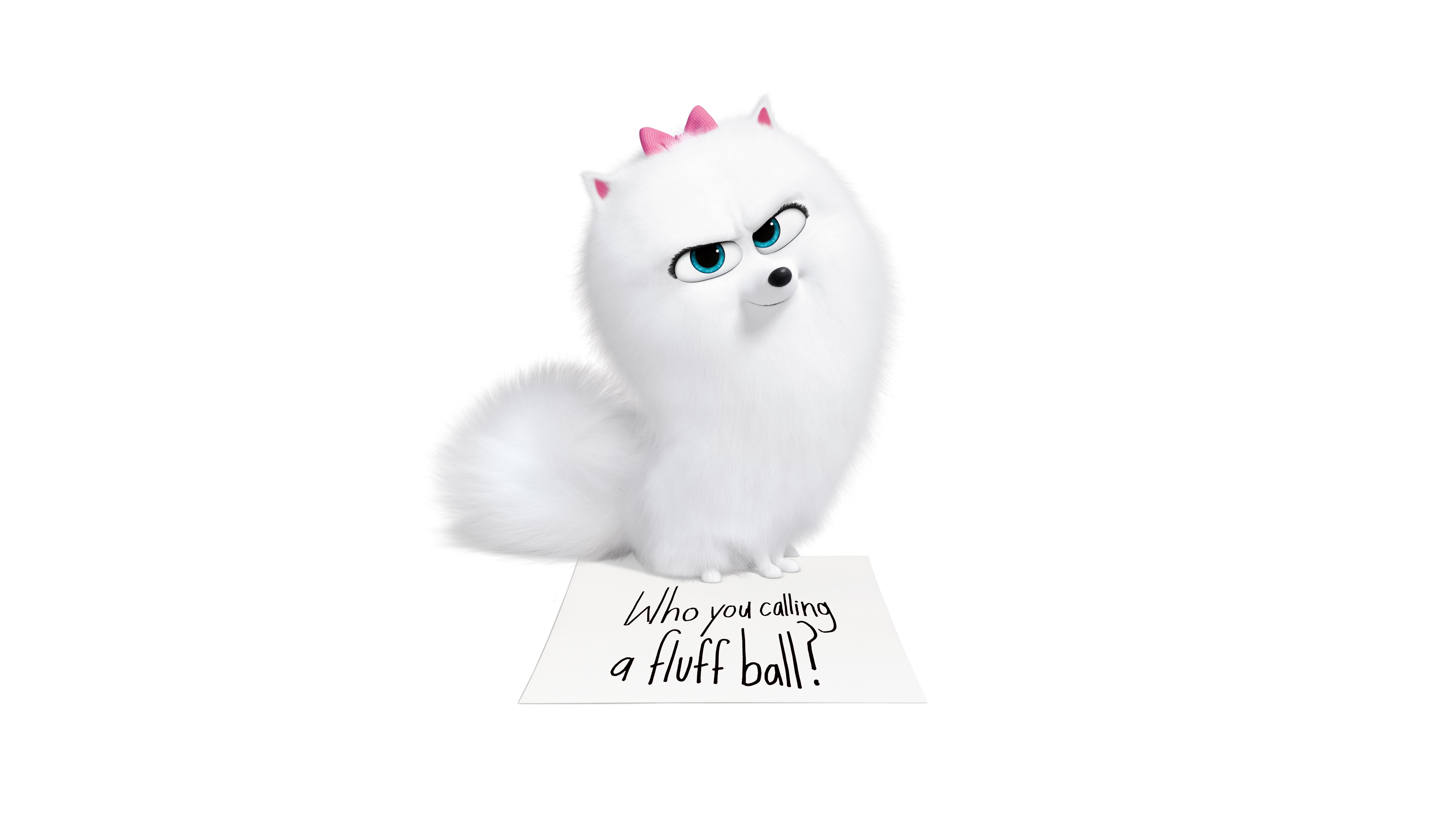 Cute Gidget In The Secret Life Of Pets 2 4k 8k Wallpapers Hd