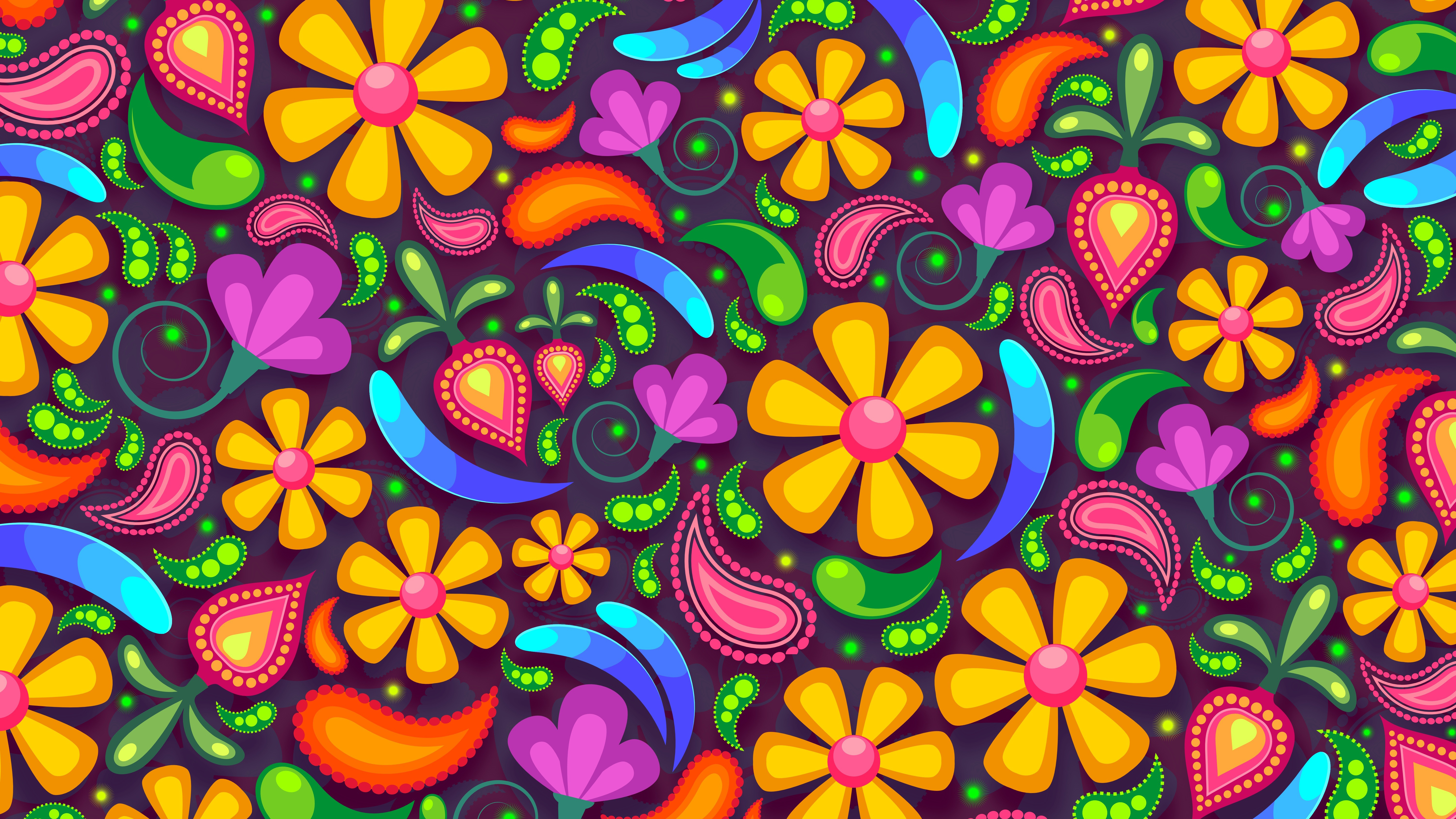 Floral Abstract 5k Wallpapers Hd Wallpapers