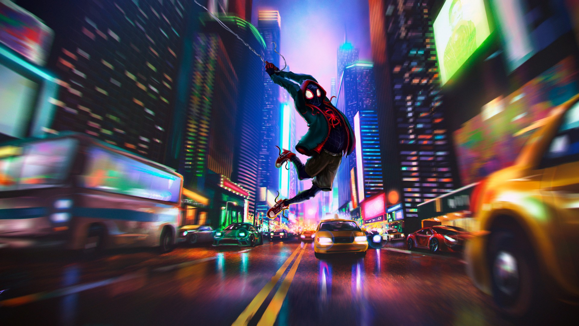 Spider Man Into The Spider Verse 4k Wallpapers Hd Wallpapers