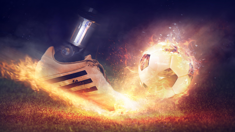 Football Fire Shoe 4K Wallpapers | HD Wallpapers