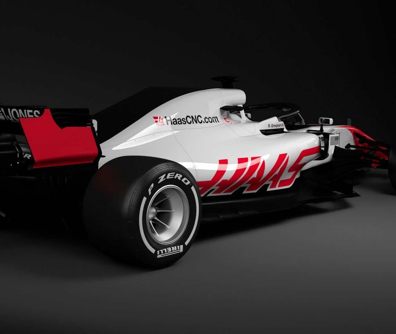 Haas Team2019 F1 Racer Wallpapers