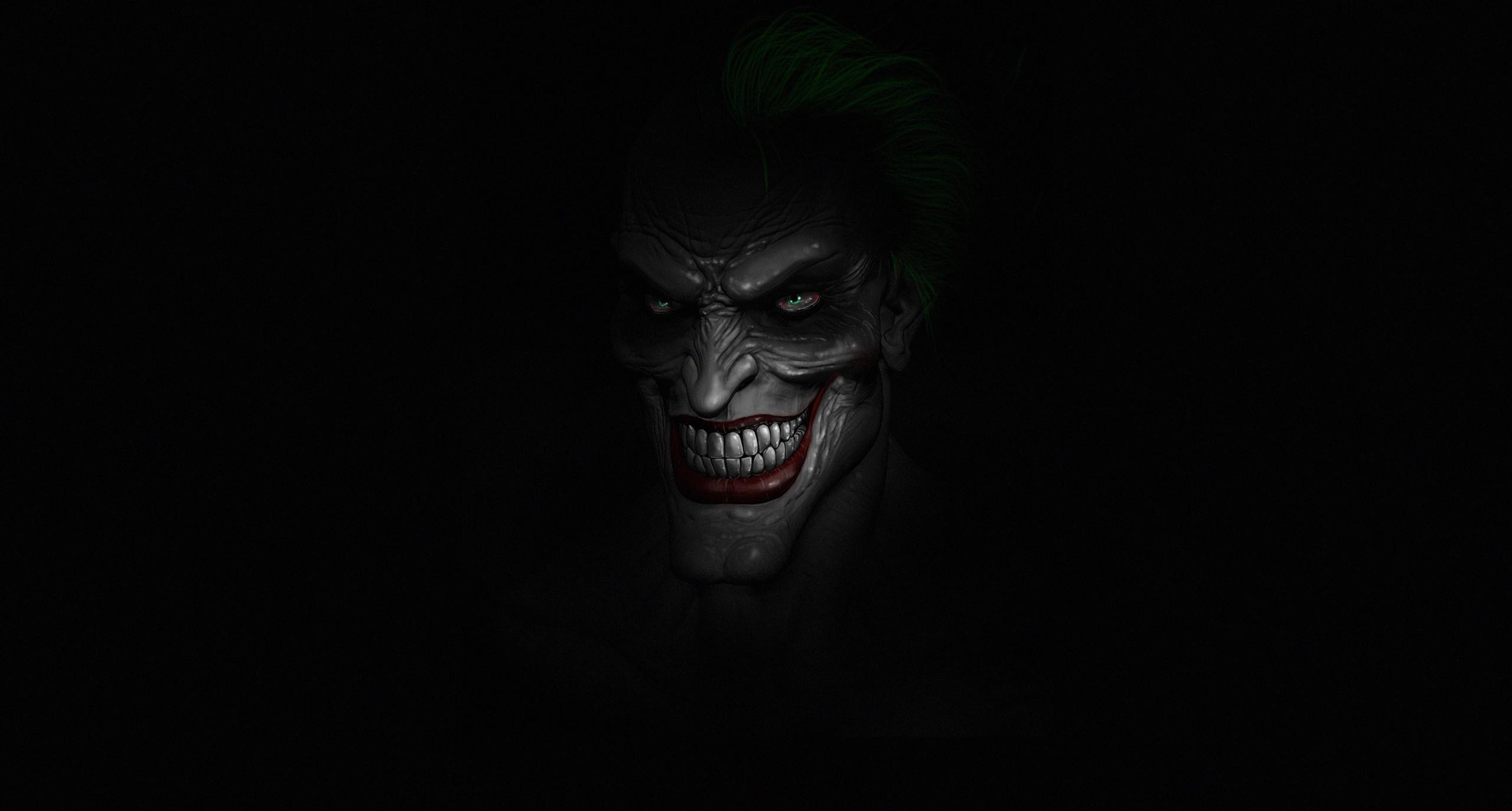 Joker Dark Minimalist Wallpapers - HD Wallpapers