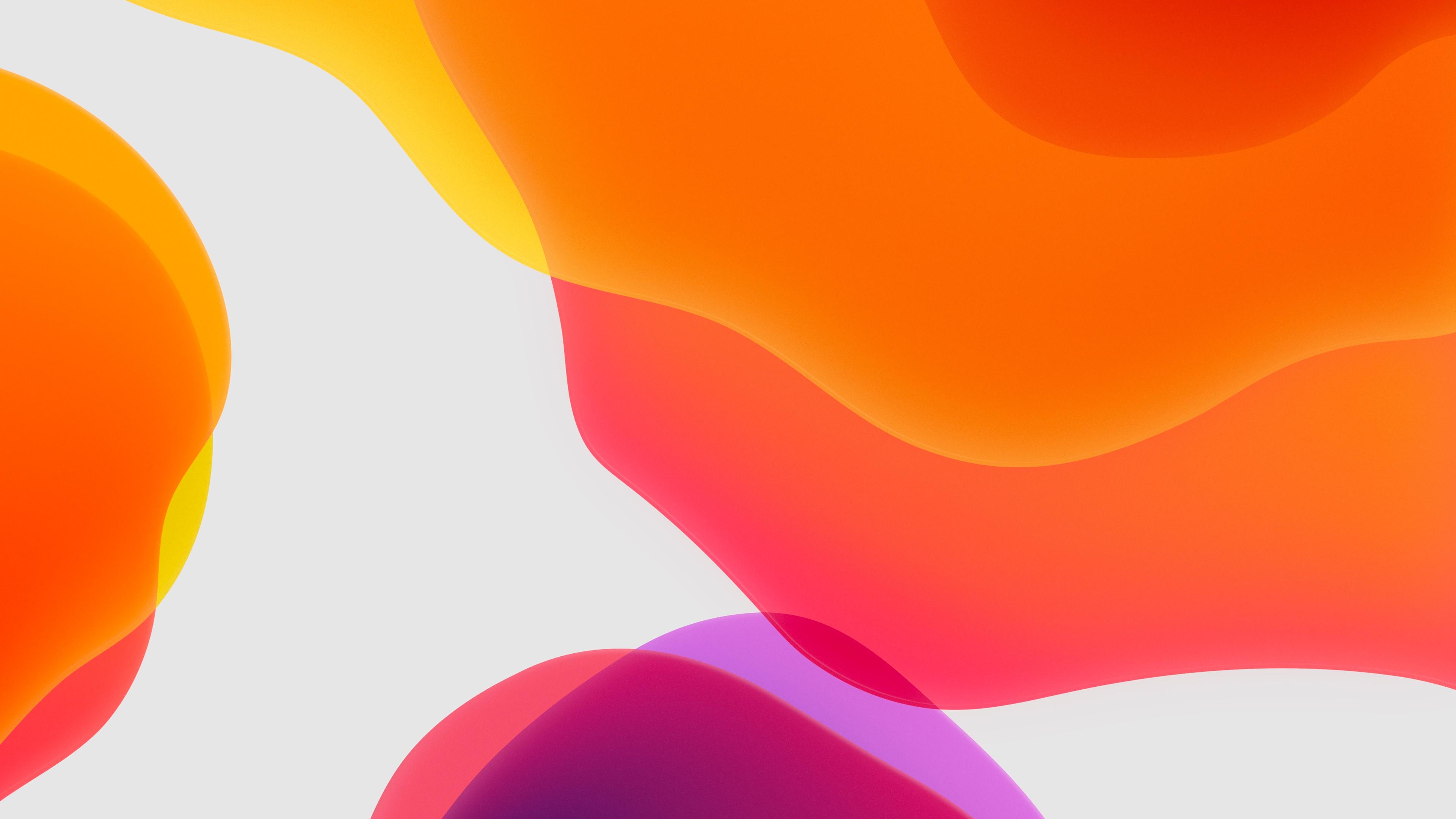 iOS 13 iPadOS Orange Wallpapers   HD Wallpapers