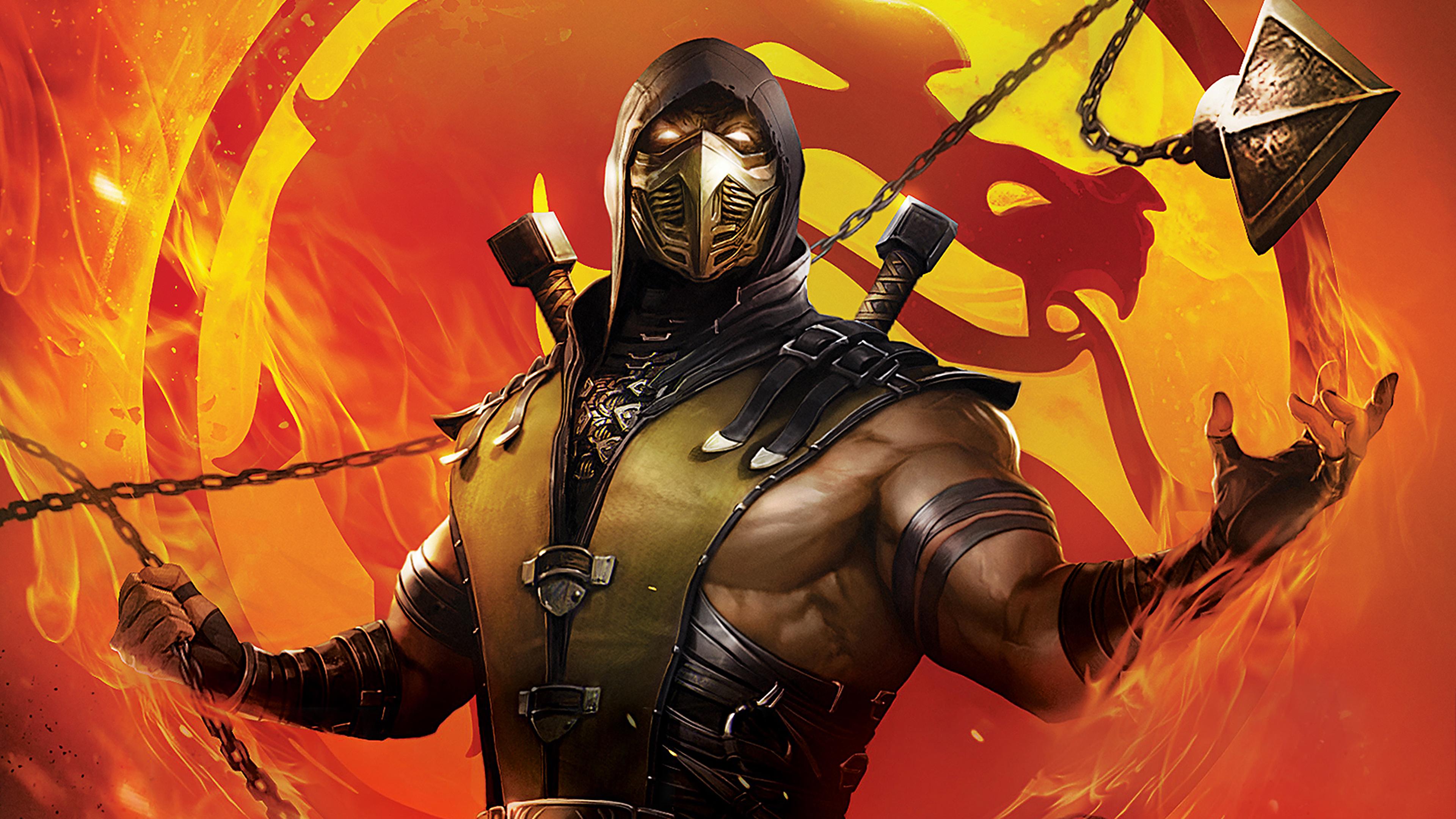 mortal kombat legends scorpions revenge 2020 4k